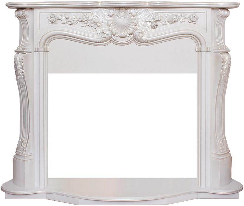 Деревянный портал для камина Real-Flame Ellada 33Порталы из дерева<br>Real Flame (Реал Флейм) Ellada 33 портал из дерева для очага 3D Firestar 33. Уже само название обрамления - Ellada относит нас к античным временам, в стиле которых и выдержан дизайн данного портала. Применение современных компонентов МДФ и шпона, состоящих из качественной древесины под белый дуб, способствует эстетике восприятия и сочетанию с интерьером комнаты, зала или веранды.<br><br>Проработанные стиль и эстетика дизайна<br>Высококачественные материалы под дерево или камень<br>Цвет  WT-659B, WT-659G<br>Поверхность, устойчивая к повреждениям, температурам<br>Установка пристенная<br>Искусное исполнение высокого класса<br>Долгий срок службы<br>Комплектуется электрическими очагами этого же производителя<br>Простая и быстрая установка<br>Удобное и легкое обслуживание<br><br>Компания Real Flame представляет серию порталов под электрокамины. Богатство и разнообразие моделей различных наименований, отличающихся цветом, размерами, внешним видом и другими характеристиками. Повышенный контроль качества продукции. Порталы для каминов изготовляются из различных материалов камня и дерева с изысканой стилизацией в классическом или современном дизайне. Каждый портал согласуется с  определенным типом и размерами очагов, так что заказчик может выбрать для себя любое их сочетание по своему вкусу.<br><br>Страна: Канада<br>Материал портала: МДФ/натуральный шпон<br>Цвет: Дуб белый<br>Тип портала: Фронтальный<br>ГабаритыВШГ,мм: 1170х1470х520<br>Вес, кг: 70<br>Гарантия: 1 год
