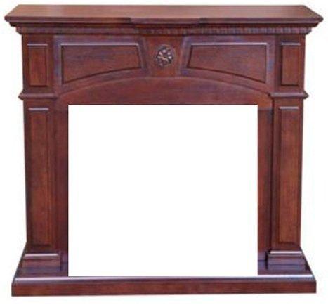 Деревянный портал для камина Real-Flame Eva 26Порталы из дерева<br>Деревянный портал Real-Flame (Реал Флейм) Eva 26 изготовлен из высококачественной плиты МДФ, а сверху имеет специальное пленочное покрытие, которое обеспечивает сохранность поверхности на протяжении долгих лет. Камин с таким порталом выполнен в ореховой цветовой гамме: глубокой, благородной, насыщенной. Портал станет настоящим украшением вашего жилища.<br>Особенности и преимущества порталов Real-Flame для электрических каминов:<br><br>Оригинальный дизайн.<br>Высококачественные материалы.<br>Не боится влаги, устойчив к высоким температурам.<br>Поверхность не истирается и не царапается.<br>Легкость монтажа и обслуживания.<br>Вариант установки: пристенный, не требует ниши.<br>Первоклассное аккуратное исполнение.<br>Длительный срок эксплуатации.<br>Высокая износоустойчивость, а также устойчивость перед механическими повреждениями, истиранием, воздействием температур.<br>Комплектация с электрическими очагами этого же производителя.<br>Простая и быстрая установка, которая не требует профессиональных навыков и инструментов.<br>Легкий вес, возможность переустановки в другое место.<br><br>Порталы для электрических каминов Real-Flame помогут вам сделать из простого очага настоящий камин, который подарит вашему жилищу неповторимую атмосферу. Компания Real-Flame, разрабатывая семейство декоративных панелей для оформления каминов , постаралась не придерживаться одного стилевого решения, а представить в своих произведениях искусства самые разнообразные жанры, что у них прекрасно получилась. Однако весь модельный ряд объединяет несколько качеств. Во-первых, это превосходная работа профессиональных дизайнеров: в каждом изгибе, каждом декоративном элементе чувствуется рука мастера своего дела. Во-вторых, это первоклассные материалы, которые использовались для изготовления порталов, что обусловило их великолепный облик и сохранения своих эстетических свойств долгие годы. <br><br>Страна: Канада<br>Материал портала: МДФ