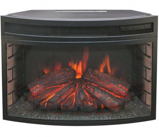 Камин Real-Flame Firefield 25 S IRОчаги широкие<br>Real Flame (Реал Флейм) Firefield 25 S IR &amp;ndash; это панорамный очаг с эффектом живого огня для камина, который не оставит равнодушным ни одного пользователя. Модель исполнена в формате, где изогнутое стекло увеличивает угол обзора. Имитация горения огня настолько реалистична, что ее достаточно трудно отличить от реального пламени. Встраиваемый вариант установки подразумевает комплектацию с порталом от одноименного производителя.<br><br>Страна: Канада<br>Мощность, кВт: 2,0<br>Пламя Optiflame: None<br>Эффект топлива: Дрова, угли<br>Фильтр очистки воздуха: Нет<br>Обогреватель: Есть<br>Цвет рамки: Черный<br>Потрескивание: Есть<br>Пульт: Есть<br>Дисплей: Нет<br>Тип камина: Электрический<br>ГабаритыВШГ,мм: 475х660х335<br>Гарантия: 1 год<br>Вес, кг: 20