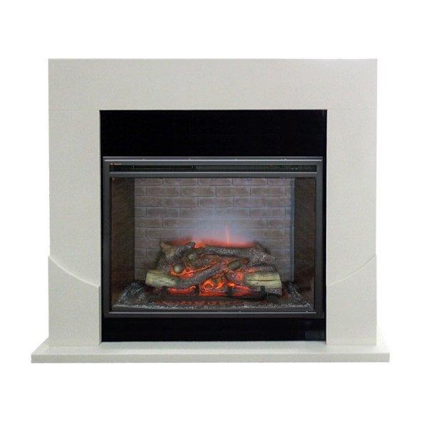 Камин Real-Flame Luton 33 с очагом Leeds 33 SDWКаминокомплекты<br>Электрический камин RealFlame (Реал Флейм) Luton 33 с очагом Leeds 33 SDW отличается удобством управления и длительным сроком эксплуатации. Конструкция агрегата выполнена из высококачественных и износостойких материалов. Камин может использоваться в качестве подставки для различных элементов декора, как источника дополнительного обогрева и как дополнительный осветительный прибор.<br>Особенности и преимущества:<br><br>Стильный, роскошный внешний вид.<br>Современный дизайн.<br>Материал изготовления   МДФ высокого качества.<br>Реалистичные муляжи поленьев.<br>100% гарантия качества и долговечности.<br><br>Готовые комплекты электрических каминов Real Flame с порталом Luton предназначены для бытового использования. Благодаря достаточно универсальному и простому дизайну конструкции агрегаты подходят к любому интерьеру. Модели представлены в светлом оттенке. Порталы устройств выполнены из высококачественного и износостойкого МДФ. Камины используются для обогрева помещений и работы в декоративном режиме.<br><br>Страна: Канада<br>Материалы портала: МДФ<br>Мощность, кВт: 2,0<br>Обогреватель: Есть<br>Фильтр очистки воздуха: Нет<br>Пламя Optiflame: Нет<br>Эффект топлива: Дрова<br>Цвет: Бежевый<br>Потрескивание: Нет<br>Пульт: Есть<br>Дисплей: Нет<br>Тип камина: Электрический<br>ГабаритыВШГ,мм: 1100x1350x400<br>Вес, кг: 55<br>Гарантия: 1 год