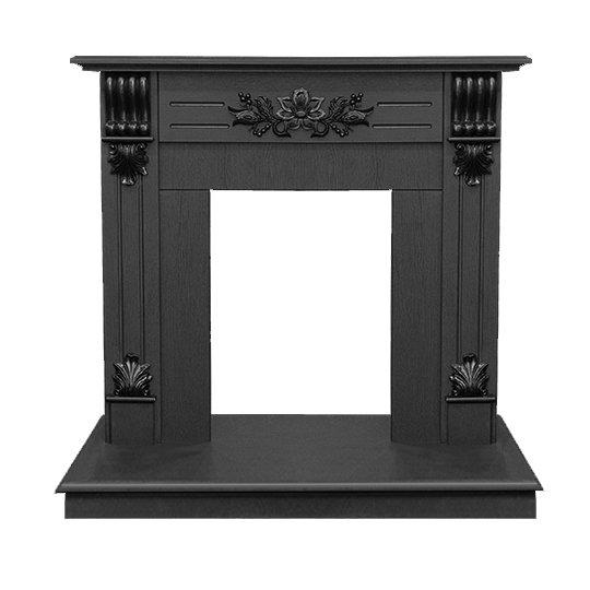 Деревянный портал для камина Real-Flame Ottawa DNПорталы из дерева<br>Вариант портала для стандартного очага Real Flame (Реал Флейм) Ottawa DN выполнен в стиле античной классики, облицован шпоном темного ореха, на котором отлично смотрятся более темные элементы античного декора. Компактный размер портала и классический стиль оформления позволяют разместить его в помещениях, практически, любого стиля. Модель надежная, изготовлена из износостойких материалов.   <br>Особенности рассматриваемой модели каминного портала от торговой марки Real Flame:<br><br>Пристенный фронтальный вариант установки.<br>Стильный эргономичный дизайн.<br>Компактные установочные размеры.<br>Высокое качество материалов и сборки.<br>Простота в уходе.<br>Возможность, при необходимости, переустановить в другое помещение.<br>Портал устойчив к разрушающему воздействию солнечных лучей и небольших механических повреждений.<br>Несложный монтаж, не требующий профессиональных навыков.<br><br>Каминные порталы   это шанс каждого пользователя почувствовать себя настоящим творцом стиля. Огромный выбор моделей позволяет выбрать то обрамление, которое идеально впишется в конкретный интерьер помещения. Порталы от компании  Real Flame   это высокое качество материалов изготовления, благодаря чему изделия характеризуются длительным сроком службы, при этом не теряют первоначального облика. Уход за ними очень прост   достаточно лишь стирать накопившуюся со временем пыль.<br><br>Страна: Канада<br>Материал портала: МДФ, экошпон<br>Цвет: Темный орех<br>Тип портала: Фронтальный<br>ГабаритыВШГ,мм: 960x1010x380<br>Вес, кг: 37<br>Гарантия: 1 год