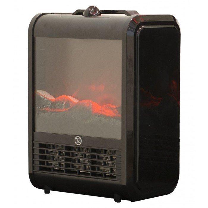 Каминная печь Real-Flame SUPERIORКаминные печи<br>Компактный электрический камин RealFlame Superiorс эффектом живого огня выполнен в современном дизайне. Очаг печи настолько похоже копирует живой огонь, что вы едва ли отличить  его от настоящего. Но в отличие от дровяного камина, RealFlame Superior не нуждается в дымоходных трубах и дорогостоящем профессиональном монтаже. Переносной вариант удобен для гостиной, спальни и других помещений. Доступен вариант классического черного цвета, а также красный и шампань.<br><br>Страна: Канада<br>Мощность, кВт: 1,5<br>Цвет: Черный<br>Обогреватель: Есть<br>Пламя Optiflame: None<br>Эффект топлива: Уголь<br>Тип камина: Электрический<br>ГабаритыВШГ,мм: 336x240x160<br>Гарантия: 1 год<br>Вес, кг: 13
