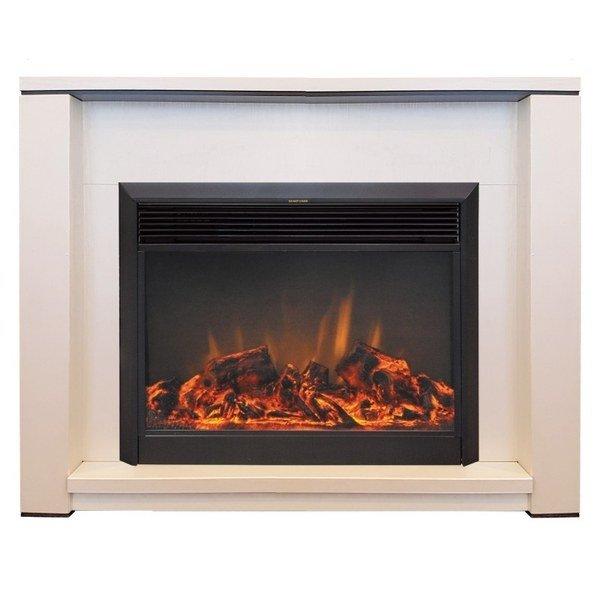 Камин Real-Flame Skagen 25,5/26 с очагом MoonblazeКаминокомплекты<br>Что может быть прекрасней горящих в камине дров? С их красотой может сравниться только изображение пламени, которое стало доступно любому желающему. Real Flame (Реал Флейм) Skagen 25,5/26 с очагом Moonblaze   это электрический камин, который не уступает по своим свойствам традиционному дровяному камину. Он также качественно обогревает помещение и имитирует домашний очаг.<br>Особенности и преимущества:<br><br>Стильный, роскошный внешний вид.<br>Портал камина имеет отделку шпоном.<br>Материал изготовления   МДФ высокого качества.<br>Реалистичные муляжи поленьев.<br>100% гарантия качества и долговечности.<br><br>Готовые комплекты электрических каминов Real Flame с порталом Skagen отличается простым дизайном конструкции, не утяжеленным лишними элементами. Модели представлены в темном цвете. Агрегаты надежно оснащены от перегрева и перепадов напряжения. Комплекты подходят для установки в помещениях с современным дизайном интерьера. Все устройства оснащены пультами ДУ.<br><br>Страна: Канада<br>Материалы портала: МДФ/пленка<br>Мощность, кВт: 1,5<br>Обогреватель: Есть<br>Фильтр очистки воздуха: Нет<br>Пламя Optiflame: Нет<br>Эффект топлива: Дрова<br>Цвет: Выбеленный дуб<br>Потрескивание: Нет<br>Пульт: Нет<br>Дисплей: Нет<br>Тип камина: Электрический<br>ГабаритыВШГ,мм: 904x1127x366<br>Вес, кг: 50<br>Гарантия: 1 год
