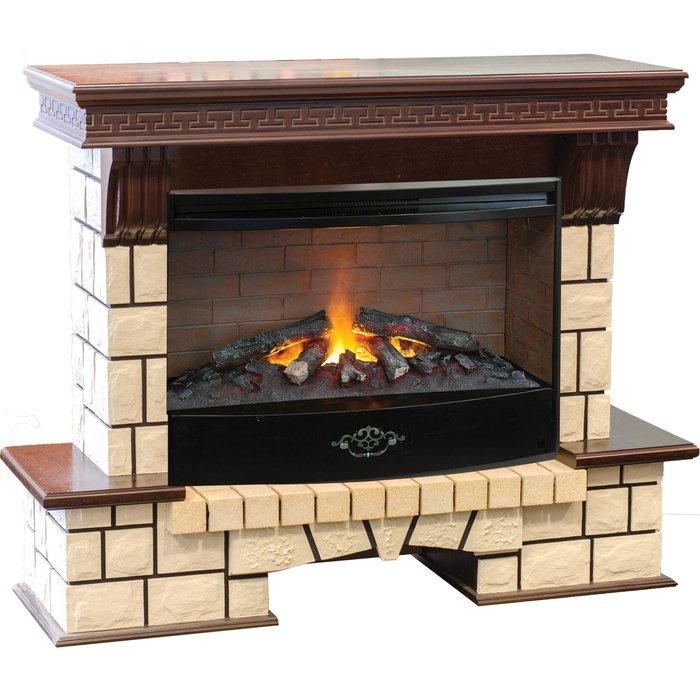 Камин Real-Flame Stone New 33 с очагом 3D Firestar 33Каминокомплекты<br>Элегантный дизайн электрокамина модели Real Flame (Реал Флейм) Stone New 33 с очагом 3D Firestar 33 придаст интерьеру неповторимое изящество и поможет рассматриваемому устройству идеально подойти для установки как в большом зале, так и в строгом рабочем кабинете. Такое устройство также имеет функцию обогрева и при необходимости может стать дополнительным источником тепла.<br>Особенности и преимущества готовых решений электрических каминов Real-Flame:<br><br>Привлекательный внешний вид.<br>Отсутствует потребность в дымоходе.<br>Нет дополнительных материальных затрат в процессе монтажа.<br>Прочное стекло, которое не нагревается.<br>Высокий уровень пожаробезопасности.<br>Высококачественные исходные материалы.<br>Портал не облазит и не портится от воздействия солнечных лучей.<br>Реалистичный огонь.<br>Рядом стоящие предметы интерьера не нагреваются.<br>Безопасность эксплуатации.<br>Комфорт использования.<br><br>Особенности и преимущества очага Real Flame 3D Firestar 33:<br><br>Электрический очаг с эффектом пламени 3D нового поколения. Модель 2016 года.<br>Максимально достоверный и реалистичный эффект пламени.<br>Регулировка высоты пламени с пульта дистанционного управления.<br>Мощность на обогрев - до 1,5 кВт.<br>Мощность в декоративном режиме 245 Вт (7 галогеновых ламп по 35Вт каждая).<br>Очаг с функцией увлажнения воздуха.<br><br>Электрический камин Real Flame   это отличная альтернатива дровяным печам. Такие приборы смогут создать иллюзию настоящего огня, который вы вряд ли отличите от настоящего. Однако электрические камины имеют множество преимуществ перед дровяными  собратьями . Во-первых, это отсутствие продуктов сгорания, что означает   такие камины не нуждаются в дымоходных трубах. Во-вторых, вам не нужно заботиться о наличии топлива (дров или угля), а также производить обязательную регулярную чистку зольников и топочных камер. В-третьих, электрический камин очень легкий, не требует встраив