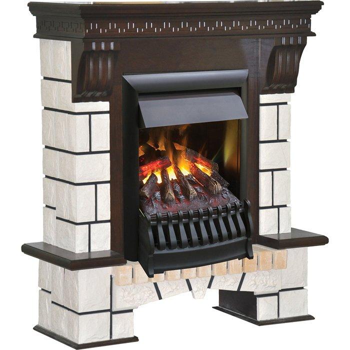 Камин Real-Flame Stone New с очагом 3D OreganКаминокомплекты<br>Real Flame (Реал Флейм) Stone New с очагом 3D Oregan   это современный электрокамин с привлекательным роскошным порталом, отличающийся небольшими габаритами, что позволяет комфортно устанавливать его в помещениях с малой площадью. Также рассматриваемая модель характеризуется высокой прочностью и качественным исполнением всех деталей комплектации.<br>Особенности и преимущества готовых решений электрических каминов Real-Flame:<br><br>Привлекательный внешний вид.<br>Отсутствует потребность в дымоходе.<br>Нет дополнительных материальных затрат в процессе монтажа.<br>Прочное стекло, которое не нагревается.<br>Высокий уровень пожаробезопасности.<br>Высококачественные исходные материалы.<br>Портал не облазит и не портится от воздействия солнечных лучей.<br>Реалистичный огонь.<br>Рядом стоящие предметы интерьера не нагреваются.<br>Безопасность эксплуатации.<br>Комфорт использования.<br><br>Особенности и преимущества очага Real Flame 3D Oregan:<br><br>Новинка 2016!<br>На 100% достоверный и реалистичный эффект пламени.<br>Очаг снабжен пультом дистанционного управления, обладает защитой от перегрева.<br>Предусмотрена регулировка высоты пламени.<br>2 режима обогрева (0,75 или 1,5 Квт)<br>Очаг с функцией увлажнения воздуха.<br><br>Электрический камин Real Flame   это отличная альтернатива дровяным печам. Такие приборы смогут создать иллюзию настоящего огня, который вы вряд ли отличите от настоящего. Однако электрические камины имеют множество преимуществ перед дровяными  собратьями . Во-первых, это отсутствие продуктов сгорания, что означает   такие камины не нуждаются в дымоходных трубах. Во-вторых, вам не нужно заботиться о наличии топлива (дров или угля), а также производить обязательную регулярную чистку зольников и топочных камер. В-третьих, электрический камин очень легкий, не требует встраивания в нишу, может легко переместиться на другое место, что бывает актуально, когда производится ремонт помещения. <br> 