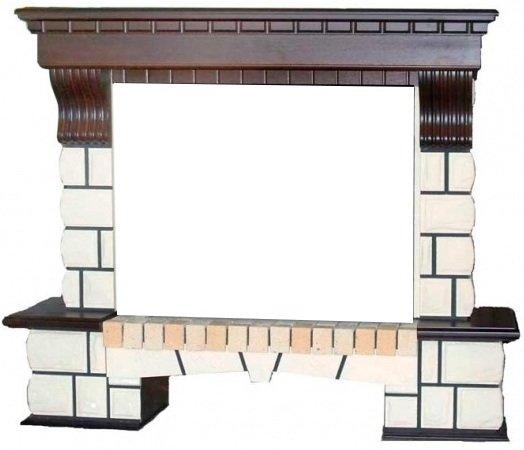 Портал из камня для камина Real-Flame Stone new 26Порталы из камня<br>Одним из основных атрибутов уютного и роскошного интерьера в доме является камин. Обрамляя ваш камин порталом STONE new  26 от Real-Flame, вы привносите в дизайн своего дома, офиса или коттеджа элемент изысканности и стиля. Светлую каменную кладку фасада можно сочетать с двумя оттенками дерева. Данная модель предназначена под очаги Moonblaze, Firespace 26, Leeds 26 sd/26 dd.<br>Доступные цвета: античный дуб, темный орех.<br>Особенности и преимущества порталов серии Country для электрических очагов от компании Real-Flame:<br><br>Оригинальный дизайн   популярный стиль Кантри.<br>Высококачественные материалы.<br>Не боится влаги, устойчив перед высокими температурами.<br>Поверхность не истирается и не царапается.<br>Легкость монтажа и обслуживания.<br>Вариант установки: пристенный, не требует ниши.<br>Первоклассное аккуратное исполнение.<br>Длительный срок эксплуатации.<br>Высокая износоустойчивость, а также устойчивость перед механическими повреждениями, истиранием, воздействием температур.<br>Комплектация с электрическими очагами этого же производителя.<br>Простая и быстрая установка, которая не требует профессиональных навыков и инструментов.<br><br>Серия Country   это коллекция декоративных порталов для оформления электрических очагов от компании Real Flame. Название говорит само за себя: все модели выполнены в кантри-стиле, который придется по вкусу всем ценителям непринужденности и легкости. Порталы реалистично имитируют камень и облицованы натуральным шпоном. Выполнены же эти панели из высококачественной древесно-волокнистой плиты средней плотности. Несомненно, любой покупатель сможет оценить красоту и очарование порталов серии Country. Линейка очень разнообразна: модели отличаются цветами исполнения, формой и размерами. Из такого разнообразия каждый покупатель подберет для себя подходящий портал, который станет идеальным дополнением электрического очага, создав с ним великолепный тандем. Такой