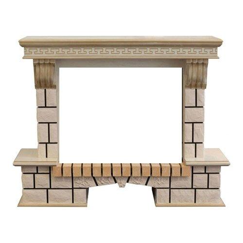 Портал из камня для камина Real-Flame Stone new 26/HL WTGПорталы из камня<br>Real Flame (Реал Флейм) Stone new 26/HL WTG портал отделан в виде кладки из декоративного камня для очагов, реализующих искусственное пламя в 3D формате, с типоразмером 26: 3D Silva log+Brick вставка 26, 3D Novara, 3D Helios, 3D Helios 26. В качестве материала для вставных панелей, заменяющих дерево, выступает МДФ и шпон под белый дуб. Портал пристраивается к стене.<br>Особенности портала<br><br><br>Проработанные стиль и эстетика дизайна<br>Высококачественные материалы под дерево или камень<br>Цвет WT-659G<br>Поверхность, устойчивая к повреждениям, температурам<br>Установка пристенная<br>Искусное исполнение высокого класса<br>Долгий срок службы<br>Комплектуется электрическими очагами этого же производителя<br>Простая и быстрая установка<br>Удобное и легкое обслуживание<br><br>Компания Real Flame представляет серию порталов под электрокамины. Богатство и разнообразие моделей различных наименований, отличающихся цветом, размерами, внешним видом и другими характеристиками. Повышенный контроль качества продукции. Порталы для каминов изготовляются из различных материалов камня и дерева с изысканой стилизацией в классическом или современном дизайне. Каждый портал согласуется с  определенным типом и размерами очагов, так что заказчик может выбрать для себя любое их сочетание по своему вкусу.<br><br>Страна: Канада<br>Материал портала: МДФ/шпон<br>Цвет: Античный дуб<br>Тип портала: Фронтальный<br>ГабаритыВШГ,мм: 1050х1280х400<br>Вес, кг: 80<br>Гарантия: 1 год