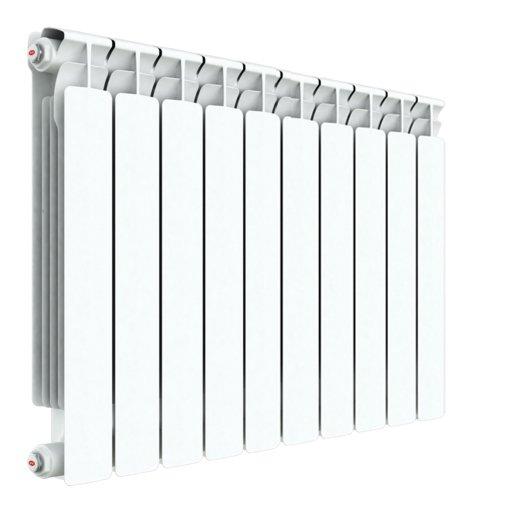 Радиатор отопления Rifar Alp 500 10 секц.Биметаллические<br>Rifar (Рифар) Alp 500 10 секц.   запатентованная отечественным производителем модель биметаллического радиатора отличается специальной системой соединения секций, которая значительно повышает надежность изделия. Все модели серии Rifar Alp 500 отличает оригинальный дизайн и высокая теплоотдача, которая, несмотря на малую глубину радиатора, обеспечивается за счет высокоразвитой его поверхности.<br>Особенности секционного радиатора отопления серии Rifar Alp 500:<br><br>Биметаллический секционный радиатор<br>Межосевое расстояние 500 мм<br>Теплоотдача 1 секции - 191 вт<br>Рабочее давление до 2,0 МПа (20 атм.)<br>Испытательное давление 3,0 МПа (30 атм.)<br>Разрушающее давление  10,0 МПа (100 атм.)<br>Максимальная температура теплоносителя 135 C<br>Водородный показатель теплоносителя рН: 7   8.5<br>Номинальный диаметр коллекторов 1? (25мм)<br>Относительная влажность в помещении не более 75%<br>Настенный вариант установки<br>Стильный современный облик<br>100% эффективность обогрева<br>Для оптимальной теплоотдачи расстояние между радиатором и полом должно<br>быть 70 120мм, а между радиатором и подоконником не менее 80мм<br>Жесткий контроль качества на производстве.<br><br>Предлагаем вниманию всех посетителей интернет-магазина MirCli.ru высокоэффективное оборудование, которое поможет создать идеальную систему отопления у вас дома. Секционные биметаллические радиаторы серии Rifar Alp 500 изготовлены с применением современных технологий, которые позволили добиться повышенной прочности и высокого качества изделий и длительного срока их эксплуатации. При этом все изделия серии исполнены в стильном, сдержанном дизайне, что вкупе с белоснежной цветовой гаммой позволяет вписать приборы в любой современный интерьер помещения. Компания Rifar производит контроль качества каждого изделия на выходе с производства, что исключает возможность попадания брака к потребителю. <br><br>Страна: Россия<br>Межосевое расстояние, мм: 500<br>