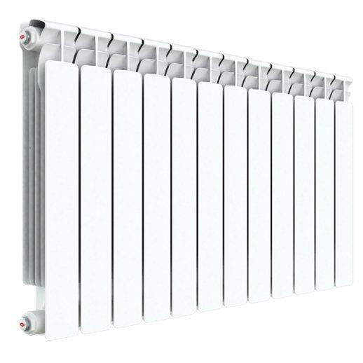 Радиатор отопления Rifar Alp 500 12 секц.Биметаллические<br>Rifar (Рифар) Alp 500 12 секц.   запатентованная отечественным производителем модель биметаллического радиатора отличается специальной системой соединения секций, которая значительно повышает надежность изделия. Все модели серии Rifar Alp 500 отличает оригинальный дизайн и высокая теплоотдача, которая, несмотря на малую глубину радиатора, обеспечивается за счет высокоразвитой его поверхности.<br>Особенности секционного радиатора отопления серии Rifar Alp 500:<br><br>Биметаллический секционный радиатор<br>Межосевое расстояние 500 мм<br>Теплоотдача 1 секции - 191 вт<br>Рабочее давление до 2,0 МПа (20 атм.)<br>Испытательное давление 3,0 МПа (30 атм.)<br>Разрушающее давление  10,0 МПа (100 атм.)<br>Максимальная температура теплоносителя 135 C<br>Водородный показатель теплоносителя рН: 7   8.5<br>Номинальный диаметр коллекторов 1? (25мм)<br>Относительная влажность в помещении не более 75%<br>Настенный вариант установки<br>Стильный современный облик<br>100% эффективность обогрева<br>Для оптимальной теплоотдачи расстояние между радиатором и полом должно<br>быть 70 120мм, а между радиатором и подоконником не менее 80мм<br>Жесткий контроль качества на производстве.<br><br>Предлагаем вниманию всех посетителей интернет-магазина MirCli.ru высокоэффективное оборудование, которое поможет создать идеальную систему отопления у вас дома. Секционные биметаллические радиаторы серии Rifar Alp 500 изготовлены с применением современных технологий, которые позволили добиться повышенной прочности и высокого качества изделий и длительного срока их эксплуатации. При этом все изделия серии исполнены в стильном, сдержанном дизайне, что вкупе с белоснежной цветовой гаммой позволяет вписать приборы в любой современный интерьер помещения. Компания Rifar производит контроль качества каждого изделия на выходе с производства, что исключает возможность попадания брака к потребителю. <br><br>Страна: Россия<br>Межосевое расстояние, мм: 500<br>