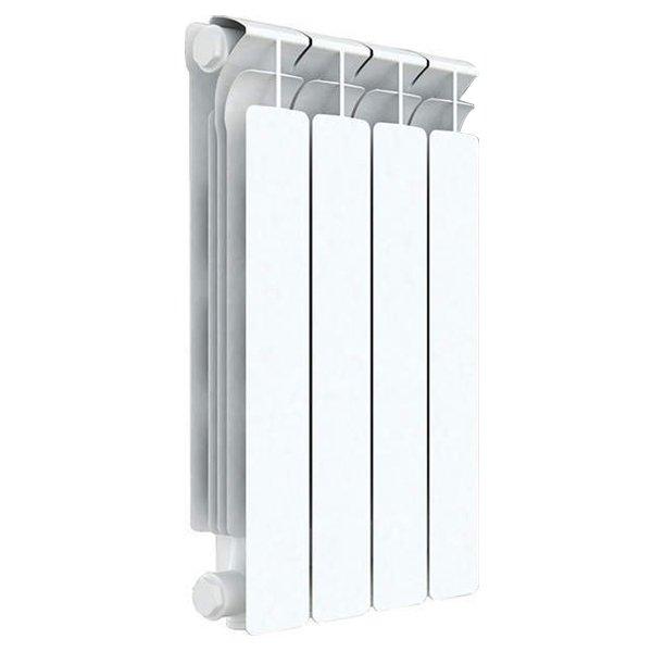 Радиатор отопления Rifar Alp 500 4 секц.Биметаллические<br>Rifar (Рифар) Alp 500 4 секц.   запатентованная отечественным производителем модель биметаллического радиатора отличается специальной системой соединения секций, которая значительно повышает надежность изделия. Все модели серии Rifar Alp 500 отличает оригинальный дизайн и высокая теплоотдача, которая, несмотря на малую глубину радиатора, обеспечивается за счет высокоразвитой его поверхности.<br>Особенности секционного радиатора отопления серии Rifar Alp 500:<br><br>Биметаллический секционный радиатор<br>Межосевое расстояние 500 мм<br>Теплоотдача 1 секции - 191 вт<br>Рабочее давление до 2,0 МПа (20 атм.)<br>Испытательное давление 3,0 МПа (30 атм.)<br>Разрушающее давление  10,0 МПа (100 атм.)<br>Максимальная температура теплоносителя 135 C<br>Водородный показатель теплоносителя рН: 7   8.5<br>Номинальный диаметр коллекторов 1? (25мм)<br>Относительная влажность в помещении не более 75%<br>Настенный вариант установки<br>Стильный современный облик<br>100% эффективность обогрева<br>Для оптимальной теплоотдачи расстояние между радиатором и полом должно<br>быть 70 120мм, а между радиатором и подоконником не менее 80мм<br>Жесткий контроль качества на производстве.<br><br>Предлагаем вниманию всех посетителей интернет-магазина MirCli.ru высокоэффективное оборудование, которое поможет создать идеальную систему отопления у вас дома. Секционные биметаллические радиаторы серии Rifar Alp 500 изготовлены с применением современных технологий, которые позволили добиться повышенной прочности и высокого качества изделий и длительного срока их эксплуатации. При этом все изделия серии исполнены в стильном, сдержанном дизайне, что вкупе с белоснежной цветовой гаммой позволяет вписать приборы в любой современный интерьер помещения. Компания Rifar производит контроль качества каждого изделия на выходе с производства, что исключает возможность попадания брака к потребителю. <br><br>Страна: Россия<br>Межосевое расстояние, мм: 500<br>Пл
