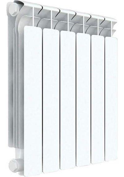 Радиатор отопления Rifar Alp 500 6 секц.Биметаллические<br>Rifar (Рифар) Alp 500 6 секц.   запатентованная отечественным производителем модель биметаллического радиатора отличается специальной системой соединения секций, которая значительно повышает надежность изделия. Все модели серии Rifar Alp 500 отличает оригинальный дизайн и высокая теплоотдача, которая, несмотря на малую глубину радиатора, обеспечивается за счет высокоразвитой его поверхности.<br> <br>Особенности секционного радиатора отопления серии Rifar Alp 500:<br><br>Биметаллический секционный радиатор<br>Межосевое расстояние 500 мм<br>Теплоотдача 1 секции - 191 вт<br>Рабочее давление до 2,0 МПа (20 атм.)<br>Испытательное давление 3,0 МПа (30 атм.)<br>Разрушающее давление  10,0 МПа (100 атм.)<br>Максимальная температура теплоносителя 135 C<br>Водородный показатель теплоносителя рН: 7   8.5<br>Номинальный диаметр коллекторов 1? (25мм)<br>Относительная влажность в помещении не более 75%<br>Настенный вариант установки<br>Стильный современный облик<br>100% эффективность обогрева<br>Для оптимальной теплоотдачи расстояние между радиатором и полом должно<br>быть 70 120мм, а между радиатором и подоконником не менее 80мм<br>Жесткий контроль качества на производстве.<br><br>Предлагаем вниманию всех посетителей интернет-магазина MirCli.ru высокоэффективное оборудование, которое поможет создать идеальную систему отопления у вас дома. Секционные биметаллические радиаторы серии Rifar Alp 500 изготовлены с применением современных технологий, которые позволили добиться повышенной прочности и высокого качества изделий и длительного срока их эксплуатации. При этом все изделия серии исполнены в стильном, сдержанном дизайне, что вкупе с белоснежной цветовой гаммой позволяет вписать приборы в любой современный интерьер помещения. Компания Rifar производит контроль качества каждого изделия на выходе с производства, что исключает возможность попадания брака к потребителю. <br><br>Страна: Россия<br>Межосевое расстояние, мм: 500<