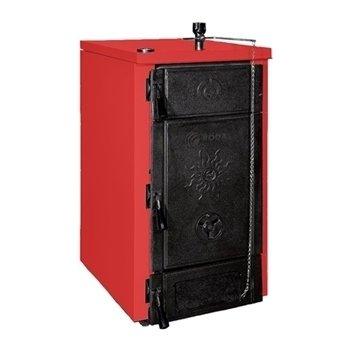 Котел Roda BS-0425 кВт<br>BS-04 от немецкой торговой марки Roda   это котел отопления, способный осуществлять работу на различных сортах твердого топлива. Теплообменник агрегата состоит из четырех чугунных секций, которые собраны между собой посредством стальных ниппелей, что гарантирует защиту внутренних компонентов конструкции от коррозии. Данный котел имеет компактные размеры и эргономичный внешний вид.<br><br>Преимущественные особенности напольного твердотопливного котла от торговой марки Roda:<br><br>Термостатическая регулировка горения (термоманометр на лицевой панели).<br>Экономичное потребление топлива.<br>Энергонезависимость.<br>Высокие показатели КПД.<br>Возможность подключения внешней горелки.<br>Чугунный секционный теплообменник с увеличенной поверхностью теплоотдачи.<br>Неприхотливость к качеству топлива.<br>Хорошая теплоизоляция топочной камеры.<br>Компактные габаритные размеры.<br>Незатруднительный установочный процесс.<br>Увеличенный эксплуатационный период.<br>Уменьшена потребность в частых сервисных осмотрах.<br>Разные системы циркуляции воздуха.<br>Превосходная совместимость с разными агрессивными условиями работы.<br>Функционирование в низкотемпературном режиме.<br><br>Линейка напольных котлов  Brenner SUN  от торговой марки из Германии,   Roda   это семейство приборов, различных по мощности, которые осуществляют обогрев различных помещений при помощи твердых сортов топлива.  Приборы серии имеют увеличенную камеру подачи топлива, благодаря которой максимально увеличено время работы на одной закладке. Все котлы могут одинаково качественно функционировать в системах, как с естественной, так и с принудительной рециркуляцией теплоносителя, что значительно расширяет область применения такого оборудования. Кроме того, твердотопливные котлы Roda способны бесперебойно работать в различных, даже самых агрессивных условиях с различными температурными режимами.<br><br>Страна бренда: Германия<br>Производство: Турция<br>Мощ. дрова, кВт: 26<br>Мощ. уголь, кВт: