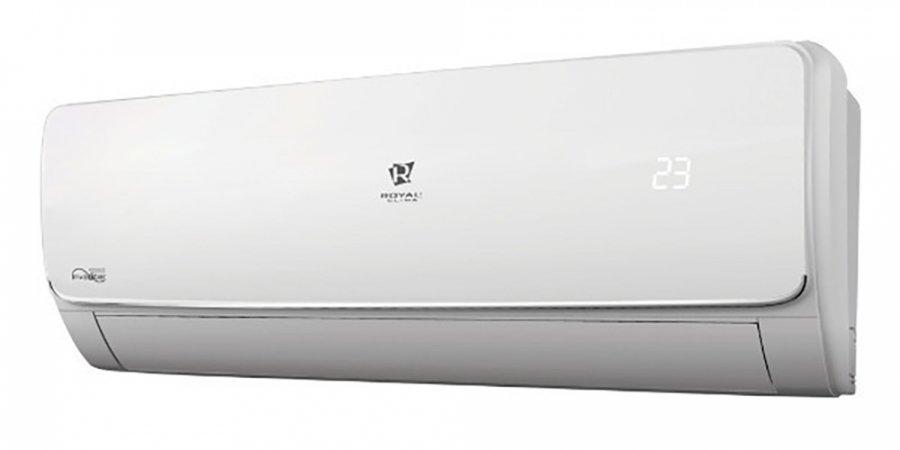 Настенный кондиционер Royal Clima RCI-V22HN20 м? - 2 кВт<br>Royal Clima (Роял Клима) RCI-V22HN &amp;ndash; это компактная передовая сплит-система, выполненная в новейшем привлекательном дизайне и предназначенная для использования в различных бытовых помещениях. Устройство оборудовано высокотехнологичной многоуровневой системой фильтрации комнатного воздуха и способно в течение всех месяцев года.<br>Особенности и преимущества настенных сплит-систем серии VELA Chrome Inverter &amp;nbsp;от компании Royal Clima:<br><br>Высокая эффективность работы.<br>Инновационные японские технологии.<br>Инверторное управление.<br>Высокая сезонная энергоэффективность класса А.<br>Современный скрытый дисплей.<br>Экономичный расход электроэнергии.<br>Автоматический режим работы.<br>Необычный дизайн с хромированной вставкой.<br>Четыре режима работы: охлаждение, обогрев, осушения, вентиляция.<br>Дополнительная система фильтрации: активный угольный фильтр Active Carbone, фильтр с активным серебром Argenteo.<br>Низкий уровень шума.<br>Удобное управление дистанционным пультом.<br>Надежность и долговечность.<br>Комфорт и безопасность эксплуатации.<br><br>Благодаря инверторной технологии кондиционеры серии VELA Chrome Inverter являются экономичным, но мощным помощником по созданию климата в помещении. Четырехскоростной вентилятор работает при минимальном уровне шума.&amp;nbsp; Ночной режим, функции I feel, I Favor и I clean. Высокоэффективные фильтры очистки воздуха превратят городской воздух в природную свежеть. Серии VELA Chrome Inverter отличается ультрасовременным дизайном с хромированной вставкой.&amp;nbsp; VELA Chrome Inverter&amp;nbsp; - экономичный, стильный и мощный помощник в вашем доме.<br><br>Горизонтальная регулировка потока: Нет<br>Страна бренда: Италия<br>Уровень шума, дБа: 48<br>Габариты ВхШхГ, см: 50x71x24<br>Производитель: Китай<br>Площадь, м?: 22<br>Вес, кг: 23<br>Компрессор: Инвертор<br>Режим работы: холод/тепло<br>Уровень шума, дБа: 24<br>Охлаждение, кВт: 2,2<br>Габариты Вх