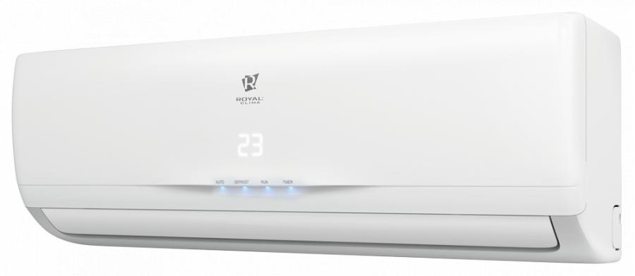 Настенный кондиционер Royal Clima RC-G36HN35 м? - 3.5 кВт<br>С легкостью управлять климатом внутри помещения и поддерживать благоприятные жилищные условия стало возможным благодаря многофункциональной сплит-системе от надежной производственной компании Royal clima (Роял Клима) RC-G36HN. Пользователь может выбрать наиболее комфортный для себя климатический режим, так как предусмотрено несколько скоростей вращения вентилятора.<br>Основные достоинства рассматриваемой модели настенной сплит-системы:<br><br>Энергоэффективность класса А<br>Японские технологии<br>Скрытый дисплей<br>Элегантный дизайн<br>Активный угольный фильтр устраняет неприятные запахи<br>Фильтр с активным серебром уничтожает аллергены, споры плесневелых грибков и обеззараживает воздух<br>Двусторонее подключение и отвод дренажа<br>Индикация утечки хладагента<br>4 режима работы: охлаждение, обогрев, осушение, вентиляция<br>Авторестарт<br><br>Настенные системы кондиционирования воздуха Royal clima GRAZIA   это серия моделей 2017 года, которые были разработаны в сотрудничестве со специалистами компании GD Midea. Сплит-системы из данной серии были оснащены надежной системой фильтрации воздуха, что позволяет поддерживать более здоровую атмосферу внутри помещения, и имеют высокий класс энергоэффективности.<br><br>Горизонтальная регулировка потока: Нет<br>Страна бренда: Италия<br>Уровень шума, дБа: 56<br>Габариты ВхШхГ, см: 77x55,5x30<br>Производитель: Китай<br>Вес, кг: 34<br>Компрессор: Не инвертор<br>Площадь, м?: 35<br>Уровень шума, дБа: 37<br>Режим работы: холод/тепло<br>Габариты ВхШхГ, см: 80x27,5x18,8<br>Охлаждение, кВт: 3,65<br>Вес, кг: 8<br>Обогрев, кВт: 3,85<br>Потребление при охлаждении, кВт: 1,104<br>Потребление при обогреве, кВт: 1,149<br>Охлаждающая способность, тыс. BTU: 12<br>Диапазон t на охлаждение, С: +18...+43<br>Диапазон t на обогрев, С: 7...+24<br>Расход воздуха, м3/ч: 578<br>Хладагент: R410A<br>Max длина трассы, м: 15<br>диаметр газовой трубы, дюйм: Нет<br>диаметр жидкостной трубы, дюйм: Не
