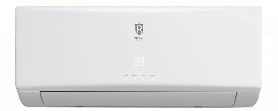 Настенный кондиционер Royal Clima RC-P76HN70 м? - 7 кВт<br>Современная сплит-система с лаконичным исполнением Royal Clima (Роял Клима) RC-P76HN   это настоящий шанс взять климат под собственный контроль! Кондиционер выполняет задачу по созданию и поддержанию определенной комфортной температуры внутри необходимого помещения, а обогрев или охлаждение   зависит от потребностей пользователя или погодных условий снаружи.<br>Особенности рассматриваемой модели настенного кондиционера серии Royal Clima  PRIMA :<br><br>Новинка 2016 года!<br>Классическая сплит-система.<br>Компактный корпус.<br>Ионизация воздуха.<br>Экономичный роторный компрессор.<br>Традиционный дизайн идеальный для любого интерьера.<br>Турбо режим.<br>Материалы изготовления непревзойденного европейского качества.<br>4 режима работы: охлаждение, обогрев, осушение, вентиляция<br>Функция I Feel.<br>Функция I Favor.<br>Автоматический режим функционирования.<br>Широкий диапазон рабочих температур.<br>Передовая технология снижения шума.<br>Ночной режим работы для комфортного отдыха.<br>Работа по таймеру.<br>Авторестарт<br>Озонобезопасный фреон<br><br>Лаконичные кондиционеры настенного типа от итальянского бренда Royal Clima из серии PRIMA оснащены специальной системой для ионизации воздуха, которая может гарантировать пользователю и членам его семьи хорошее самочувствие. Оборудование из данной серии не только отлично справляется с контролем за климатическими условиями, но и поддерживает достойный уровень жилищного комфорта.<br> <br><br>Уровень шума, дБа: 60,5<br>Горизонтальная регулировка потока: Нет<br>Страна бренда: Италия<br>Производитель: Китай<br>Габариты ВхШхГ, см: 70,2x84,5x36,3<br>Компрессор: Не инвертор<br>Вес, кг: 49<br>Площадь, м?: 75<br>Режим работы: холод/тепло<br>Уровень шума, дБа: 46<br>Габариты ВхШхГ, см: 31,5x104,5x23,5<br>Охлаждение, кВт: 7,55<br>Обогрев, кВт: 8,46<br>Вес, кг: 13<br>Потребление при охлаждении, кВт: 2,345<br>Потребление при обогреве, кВт: 2,438<br>Охлаждающая способность, тыс. BT