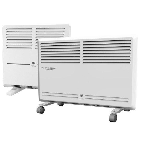 Конвектор электрический Royal Clima REC-P600M5 м? - 0.5 кВт<br>Royal Clima (Роял Клима) REC-P600M &amp;mdash; это компактное устройство конвективного типа для обогрева помещений различного назначения, которое способно принести в комнату уют и предполагаемое тепло в считанные минуты. Устройство имеет весьма приятную визуальную составляющую и с легкостью станет дополнением, а не лишением для интерьерной композиции.&amp;nbsp; Предусмотрена настенная и напольная установка.<br>Особенности и преимущества электрических конвекторов Royal Clima серии Palermo Econo:<br><br>Высокоэффективный ленточный стальной нагревательный элемент S-ROYAL Heat Technology<br>Увеличенная площадь теплообмена и сниженная температура поверхности<br>Моментальный разогрев за несколько секунд<br>Равномерный прогрев помещения<br>Исключение холодных зон<br>Мощный каминный эффект<br>Cистема безопасной эксплуатации Security Project<br>Защита от перегрева - безопасный нагрев лицевой панели<br>Класс электрозащита I<br>Высокоточный механический термостат для настройки и поддержания требуемой температуры в помещении<br>Универсальная настенная и напольная установка<br>Высококачественное порошковое покрытие устойчивое к выцветанию и обеспечивающее белоснежный цвет и устойчивость к царапинам<br><br>Бренд Royla Clima &amp;ndash; один из самых известных в мире. Осенью 2015 году компания представила рынку долгожданную новинку: семейство Palermo &amp;ndash; это три различные модификации электрических конвекторов, Econo, Meccanico и Elettronico. Первая оснащена ленточным нагревательным элементом с повышенным сроком службы и представлена моделью мощностью 600 Вт &amp;ndash; отличный выбор для маленьких помещений. Вторая и третья модификации &amp;ndash; это конвекторы с механическим и электронным термостатом соответственно, представленный в трех различных мощностях &amp;ndash; для помещений от десяти до двадцати квадратных метров. В интернет-магазине mircli.ru электрические конвекторы Royal Clima посетители найдут в 