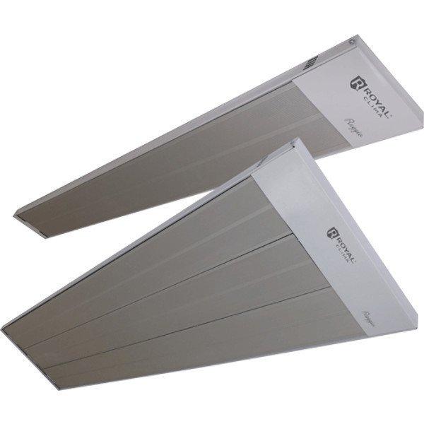 Инфракрасный обогреватель Royal Clima RIH-R1000G1 кВт<br>Энергия инфракрасного обогревателя Royal Clima (Роял Клима) RIH-R1000G никогда не расходуется понапрасну, потому что все электричество, которое поступает к прибору, используется на обогрев небольших участков помещений или на полноценные комнаты не сильно большого размера. Устройство имеет лаконичный приятный дизайн, корпус обогревателя не покажется лишним в помещении.<br>Особенности и преимущества инфракрасных обогревателей Royal Clima серии Raggio:<br><br>Форма перфорации корпуса обеспечивает эффективную работу.<br>Работа по принципу солнечного обогрева.<br>Рациональное использование полезного пространства помещения; возможность монтировать прибор как на потолок, так и на стену.<br>Не сжигают кислород.<br>Не сжигают кислород.<br>Скорость нагрева в 3-4 раза выше по сравнению с традиционными системами нагрева.<br>Компактный размер.<br>Монтажные крепления в комплекте.<br>Высокая экономичность.<br>Экологичность.<br>Бесшумность.<br>Пожаробезопасность.<br>Компактный размер.<br>Долгий срок службы.<br>Возможность создать направленный поток тепла.<br><br>Обогреватели инфракрасного типа   одни из самых популярных среди аналогичного оборудования. Эти приборы имеют несколько преимуществ перед обогревателями другого типа. Во-первых, это экономичность в энергопотреблении. Во-вторых, это использование минимума пространства благодаря удобному монтажу на стене или под потолком. В-третьих, это абсолютная безопасность излучения в ик-спектре для здоровья человека. И в-четвертых, это высокая эффективность прогрева благодаря воздействию не на воздух, а на поверхности предметов. Компания Royal Clima представляет новую линейку инфракрасных обогревателей Raggio, которые обладают всеми этими преимуществами. В интернет-магазине mircli.ru инфракрасные обогреватели Royal Clima покупатели найдут в широком ассортименте.<br><br>Страна: Италия<br>Производитель: Китай<br>Мощность, кВт: 1,0<br>Площадь, м?: 10<br>Класс защиты: IP20<br>Регулиров