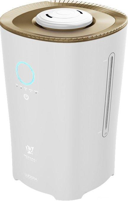 Увлажнитель воздуха Royal Clima RUH-L400/4.0E-WTУльтразвуковые<br>Установив ультразвуковой увлажнитель воздуха Royal Clima RUH-L400/4.0E-WT, Вы сможете всегда поддерживать стабильный уровень содержания влаги в Вашем доме, а также наполнять его Вашим любимым ароматом благодаря встроенной функции ароматизатора. Этот приор имеет повышенную мощность по образованию пара, потребляя при этом совсем немного электроэнергии.<br>Отличительные особенности ультразвукового увлажнителя воздуха Royal Clima:<br><br>3 в 1: увлажненитель, гигрометр и ароматизатор<br>Ультразвуковой тип увлажнения<br>Большая площадь обслуживаемого помещения<br>Высокая производительность по увлажнению<br>Большая емкость для воды<br>Низкая потребляемая мощность<br>Сенсорная панель управления<br>Три скорости выхода пара<br>Дневной и автоматический режим работы<br>Два распылителя<br>Встроенная аромакапсула<br>Специальное окошко на корпусе для контроля уровня воды<br>Фильтр для очистки воды в комплекте <br><br><br>Ультразвуковые увлажнители воздуха компании Royal Clima (Роял Клима) серии LUCERA имеют специальную конструкцию, получившую название  basket in . Эти приборы состоят из двух частей: корпуса увлажнителя и находящегося внутри него бака для воды. Такая конструкция позволяет предотвратить утечку воды из резервуара и делает прибор более надежным в использовании.<br><br>Страна: Италия<br>Производитель: None<br>Площадь, м?: 40<br>Площадь по очистке, м?: None<br>Обьем бака, л: 4<br>Колво режимов работы: None<br>Расход воды, мл/ч: 400<br>Гигростат: Да<br>Гигрометр: Нет<br>Питание, В: 12/220<br>Звуковое давление, дБа: None<br>Мощность, Вт: 27<br>Габариты ВхШхГ, см: 30,2x20,7x20,7<br>Вес, кг: 2<br>Гарантия: 1 год<br>Ширина мм: 207<br>Высота мм: 302<br>Глубина мм: 207