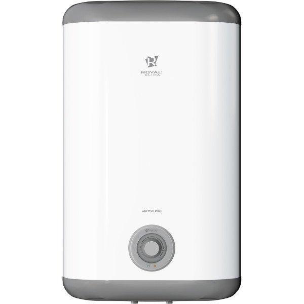 Водонагреватель Royal Clima RWH-GI50-FS50 литров<br>Бойлер Royal Clima (Роял Клима) RWH-GI50-FS представляет собой бытовое электрическое устройство, позволяющее обеспечить квартиру или небольшой дом оптимальным количеством горячей воды. Современная комплектация отвечает за повышенную эффективность и долговечность рассматриваемого оборудования. Также бойлер характеризуется низким уровнем издаваемого шума.<br>Особенности и преимущества накопительных водонагревателей Royal Clima представленной серии:<br><br>Медный нагревательный элемента ROYAL Cu+ гарантирует равномерный нагрев воды и долгий срок службы.<br>Внутренние резервуары из высококачественной нержавеющей стали Goliath 1.2.<br>Минималистическая панель управления Comodi luce c индикацией питания и нагрева.<br>Современный пенополиуретановый термоизолиру-ющий материал равномерно &amp;ldquo;без пустот&amp;rdquo; распределен между внутренним баком и корпусом.<br>Система безопасной эксплуатации Security Project.&amp;nbsp;<br>Защита от избыточного давления воды и протечек.<br>Высокий класс влагозащиты IPX4.<br>Заботливый режим iLike для установки наиболее комфортной температуры нагрева воды (55 градусов) с соблюдением оптимальных параметров по энергопотреблению.<br>Белоснежный корпус из высококачественного&amp;nbsp;ABS-пластика.<br>Компактность&amp;nbsp;и легкая установка в любом помещении. Все необходимые аксессуары входят в комплект.<br><br>Электрические накопительные водонагреватели Royal Clima серии GEMMA Inox выполнены со стальным внутренним резервуаром. Агрегаты оснащены простым механическим управлением, а в качестве нагревательного элемента выступает медный ТЭН. Все модели исполнены во влагозащитном корпусе, соответствующего индексу IPX4. Встроенные защитные элементы гарантируют безопасность пользователя и длительную эксплуатацию.&amp;nbsp;<br><br>Страна: Италия<br>Производитель: Китай<br>Способ нагрева: Электрический<br>Нагревательный элемент: Медный<br>Объем, л: 50<br>Темп. нагрева, С: None<br>Мощность, кВт: 2