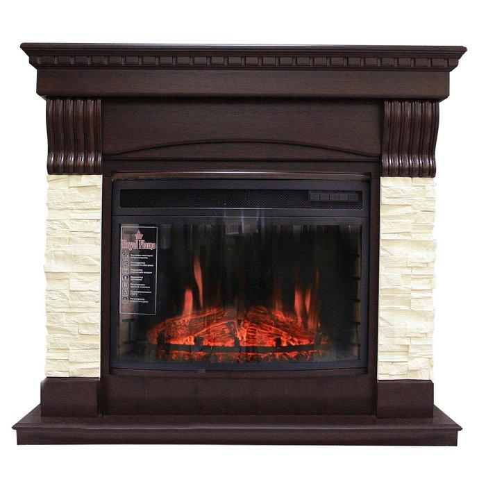 Камин Royal Flame Denver с очагом Dioramic 25FXКаминокомплекты<br>Классический каминный комплект Royal Flame (Роял Флейм) Denver с очагом Dioramic 25FX представляет собой электрическое каминное оборудование, которое не требует для искусственного обогрева и создания уютной и комфортной атмосферы внутри жилого дома перепланировки помещения и закупки и хранения топлива. Представленный каминокомплект отличается лаконичностью и эффективностью.<br>Особенности представленной модели каминокомплекта:<br><br>Портал из МДФ, цвет темный дуб, стиль &amp;ndash; классический;<br>Панорамное стекло;<br>Подсветка, а также эффект кирпичной кладки;<br>Управление нагревом с помощью пульта;<br>Возможность регулирования яркости пламени;<br>Звук потрескивания поленьев;<br>6 режимов обогрева.<br><br>Каминокомплекты от&amp;nbsp;Royal Flame&amp;nbsp;это готовые решения, которые требуют минимальных затрат при монтаже. Электрический очаг уже встроен в портал, для его установки достаточно выбрать место и подключить электропитание. Данный электрокамин удачно сочетает в себе портал из белого дерева (дуба) в классическом стиле и современный панорамный электроочаг, который эффектно имитирует процесс горения дровяных поленьев. &amp;nbsp;&amp;nbsp;<br><br>Страна: Китай<br>Материалы портала: МДФ/нат. шпон<br>Мощность, кВт: 2,0<br>Обогреватель: Да<br>Фильтр очистки воздуха: Нет<br>Пламя Optiflame: None<br>Эффект топлива: Прогоревшие дрова, угли<br>Цвет: Темный дуб<br>Потрескивание: Есть<br>Пульт: Есть<br>Дисплей: Нет<br>Тип камина: Электрический<br>ГабаритыВШГ,мм: 970x1060x400<br>Вес, кг: 80<br>Гарантия: 1 год