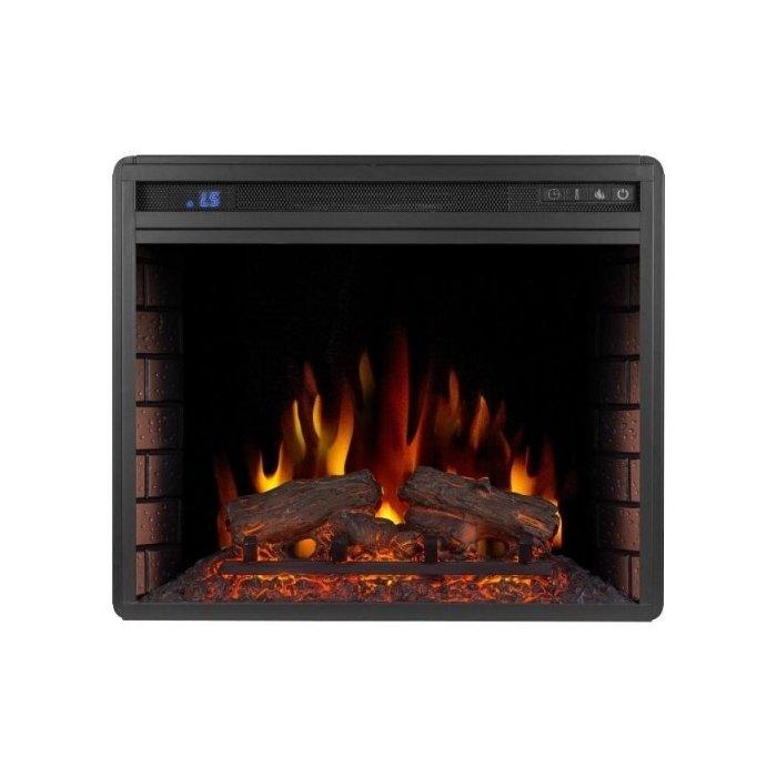 Камин Royal Flame Vision 23 EF LED FXОчаги широкие<br>Модель электрокамина Royal Flame (Роял Флейм) Vision 23 EF LED FX компактна, поэтому подойдет для установки даже в небольшом помещенье. Сдержанный и утонченный дизайн конструкции привносит в общий интерьер комнаты особый комфорт. Цифровой дисплей позволяет пользователю в любое время проверить режим работы камина, который можно удобно переключить.<br>Основные преимущества рассматриваемой модели электрического каминного очага от Royal Flame:<br><br>Светодиодные (LED) лампочки<br>6 уровней обогрева<br>5-ступенчатая регулировка яркости пламени<br>Термостат<br>Цифровой дисплей<br>Пульт ДУ<br>Кирпичная кладка<br>Звуковая имитация потрескивания дров<br>Новый дизайн дров<br><br>Серия каминных очагов от известного производителя Royal Flame &amp;ndash; это множество новых, еще более удобных в использовании, экономичных и качественных моделей. Запатентованная технология имитация горения пламени поражает своей правдоподобностью. В нашем онлайн каталоге вы найдете модели, предназначенные для комплектации порталов, встраиваемые топки и настенные модели, которые с легкостью выступают, как самостоятельный элемент декора помещения. Многие приборы способны не только украшать интерьер, но и обогревать помещения небольшой площади.&amp;nbsp;<br><br>Страна: Китай<br>Мощность, кВт: 2,0<br>Пламя Optiflame: Нет<br>Эффект топлива: Дрова<br>Фильтр очистки воздуха: Нет<br>Обогреватель: Есть<br>Цвет рамки: Черный<br>Потрескивание: Есть<br>Пульт: Есть<br>Дисплей: Да<br>Тип камина: Электрический<br>ГабаритыВШГ,мм: 603х509х210<br>Гарантия: 1 год<br>Вес, кг: 16