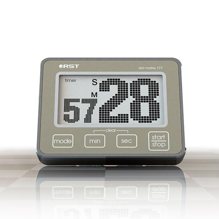 Часы без проекции Rst 04177Часы без проекции<br>Rst 04177 представляет собой современное и удобное устройство, которое может выполнять и функцию таймера, и функцию секундомера с прямым и обратным отсчетом. С даннымустройством вам не стоит переживать, что вы пропустите важное событие или не сможете определить с точностью количество времени, затраченное на какое-то занятие или тренировку. Установить необходимые значения возможно при помощи специальных сенсорных кнопок, а когда срок таймера истечет, прозвучит громкий и длительный сигнал, который невозможно не заметить. Компактные размеры и универсальный вариант размещения придется по вкусу абсолютно любому пользователю, как и большой, удобочитаемый дисплей.<br>&amp;nbsp;<br>Особенности рассматриваемой модели электронного таймера от торговой марки Rst:<br><br>Реализована возможность прямого и обратного отсчета.<br>Простота в эксплуатации.<br>Отсчет времени производится с разрешением до 1/100 секунды.<br>Память на последнюю установленную команду.<br>Громкий звуковой сигнал.<br>Удобочитаемый точечно-матричный дисплей с анимацией цифр.<br>Сенсорное управление.<br>Система экономии питания SES.<br>Удобная подставка для настольной установки.<br>Приспособление&amp;nbsp;для крепления на веревку.<br>Магнит для крепления на металлической поверхности.<br><br>&amp;nbsp;<br><br>Страна: Швеция<br>Питание, В: Батарейки<br>Тип батарейки: CR2032<br>Колво батареек: 1<br>Адаптер к 220В: Нет<br>С будильником: Нет<br>Радиодатчик: None<br>С метеостанцией: None<br>В помещении t, С: Нет<br>За окном t, С: Нет<br>Влажность в помещении: Нет<br>Влажность за окном: Нет<br>Давление: Нет<br>Прогноз погоды: Нет<br>Габариты, мм: None<br>Вес, кг: 1<br>Гарантия: 1 год