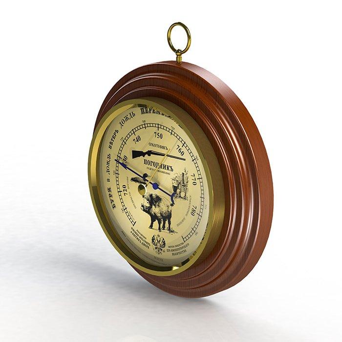 Российский барометр Rst 05358Барометры<br>Российский классический настенный барометр (анероид) RST 05358 выполнен в неподражаемом стиле с эргономичным циферблатом. Как и во всех барометрах и механических метеостанциях фирмы RST, основные детали, с помощью которых производится измерение атмосферного давления, имеют ручную сборку и проходят тщательный отбор на предприятии-изготовителе, что обеспечивает высокую степень надёжности и превосходное качество продукции.<br><br>Страна: Швеция<br>Диапазон p, мм. рт. ст.: 710790<br>Цвет: Махагон<br>Питание, В: Нет<br>Тип батарейки: None<br>Тип установки: Настенный<br>Стиль исполнения: Классический<br>Термометр: Нет<br>Гигрометр: Нет<br>Часы: Нет<br>Габариты, мм: 170х130х25<br>Вес, кг: 1<br>Гарантия: 1 год<br>Ширина мм: 130<br>Высота мм: 170<br>Глубина мм: 25