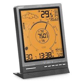 Цифровая метеостанция Rst 88771С радиодатчиком<br>Погодная метеостанция с беспроводным датчиком RST 88771 &amp;mdash; это современное цифровое устройство, которое помогает современным людям быть в курсе текущих погодных условий. Рассматриваемый прибор имеет лаконичное дизайнерское решение и компактные размерные характеристики &amp;mdash; он будет привлекательно смотреться на любом интерьерном столике или прикроватной тумбочке.<br>Основные функции и возможности рассматриваемой метеостанции от компании RST:<br><br>Высокочувствительный цифровой барометр с классическим циферблатом<br>Система автоматического изменения масштаба шкалы барометра в случае, если давление будет ниже или выше указанной на шкале<br>Анимированный прогноз погоды<br>Беспроводная передача данных на 30-50 метров<br>Автоматический пересчёт времени и даты согласно UTC/GMT (по Гринвичу)<br>Автоматический перевод с зимнего на летнее время и обратно, система DST (для РФ по умолчанию отключена, пользователь может подключить в случае необходимости)<br>Температура воздуха в помещении и за окном, полученная от радиодатчиков (макс. 3)<br>Влажность воздуха в помещении<br>Технология lo-hi Ctrl определение и отображение на дисплее минимальной и максимальной температур за текущие сутки<br>Система предупреждения образования гололёда на дорогах ice alert<br>Индикаторы тенденций изменения температур, влажности и атмосферного давления<br>Цифровая семицветная подсветка дисплея<br>График изменения атмосферного давления за 36 часов<br>Анимированный лунный календарь с указанием силы приливов и отливов<br>Система &amp;ldquo;Intelligent alarm&amp;rdquo; (разумный будильник): &amp;ldquo;workday alarm&amp;rdquo; Вас разбудит только по рабочим дням недели и &amp;ldquo;single alarm&amp;rdquo; разбудит в указанное время<br>Язык: 5 языков (английский, немецкий, французский, итальянский, русский)<br>Устанавливается на столе и имеет настенный крепёж<br><br>Метеоприборы от одного из ведущих производителей современного рынка &amp;nda