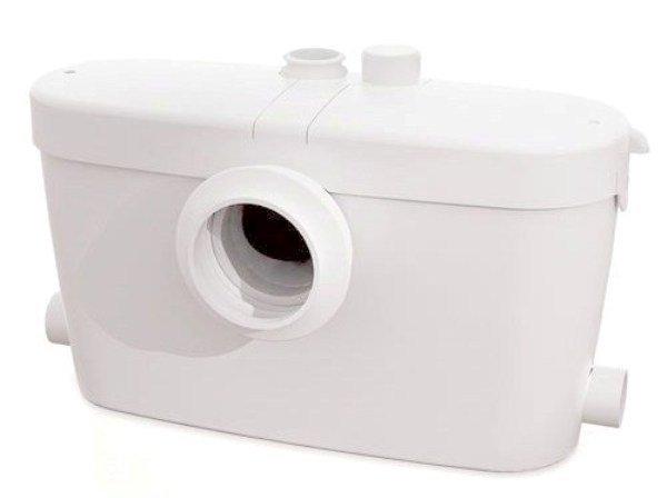 Канализационная установка SFA SANIACCESS 3Канализационные установки<br>Забудьте о проблеме плохого оттока сточных вод по канализации &amp;ndash; установите фекальный насос-измельчитель SFA SANIACCESS 3. Ножи, установленные в этом приборе, сразу же измельчают все загрязнения (фекалии, туалетную бумагу и др.) для более быстрого их прохождения по трубам. Тихая работа этого насоса сделает его совершенно незаметным в помещении, а его современный дизайн превращает его в интересный и оригинальный элемент интерьера Вашего санузла.<br>Основные характеристики насосной станции:<br><br>Широкая сфера применения<br>Большая производительность<br>Предварительное измельчение загрязнений<br>Автоматическое слежение за уровнем воды<br>Бесшумный двигатель<br>Отсутствие вибрации<br>Легкий монтаж<br>Компактный размер<br>Современный дизайн<br><br>Насосная станция SFA предназначена для обустройства бесперебойной работы канализационной системы в частном доме, квартире или в любом помещении, где канализация проблемная или отсутствует вовсе. Этот прибор исключает самую частую проблему канализации, засоры, поскольку перед выводом сточных вод, этот насос измельчает твердые загрязнения &amp;ndash; это могут быть фекальные массы, туалетная бумага, волосы и любые другие твердые предметы, которые попали в унитаз или умывальник.<br>С помощью насоса-измельчителя SFA можно оборудовать вполне полноценную систему канализации в доме, где таковая не предусмотрена: это оборудование отводит сточные воды на 5 метровпо вертикали и 100 метров по горизонтали, причем, трубы отвода стока могут иметь изгибы, подниматься и опускаться на любой уровень. Такое довольно большое расстояние позволяет вывести канализационную трубу из дома прямиком в сточную яму.<br>В этом сани-насосе установлена фильтрационная система из активированного угля, благодаря которой удалось полностью избавиться от запаха во время работы принудительной канализации. А применение шумопоглощающих материалов позволяет сделать работу этого оборудовани