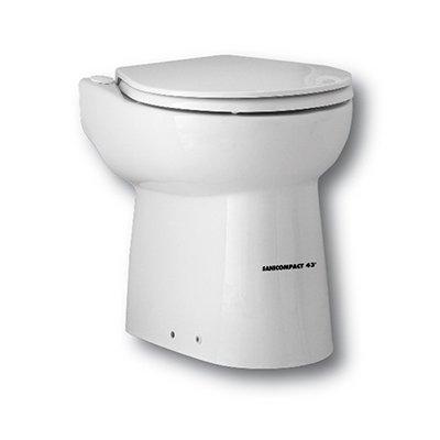 Канализационная установка SFA SANICOMPACT C43Канализационные установки<br>Оборудуйте в своем доме эффективную систему отвода канализационного стока с помощью установки фекальной насосной станции SFA SANICOMPACT C43. Этот прибор благодаря своему изысканному дизайну станет в Вашем санузле неотъемлемым предметом интерьера. Мощный двигатель во время своей работы не издает громких звуков, а дополнительная шумоизоляция обеспечивается благодаря использованию в конструкции насоса специальных материалов, способных заглушать звук. <br>Основные характеристики насосной станции:<br><br>Широкая сфера применения<br>Большая производительность<br>Предварительное измельчение загрязнений<br>Автоматическое слежение за уровнем воды<br>Бесшумный двигатель<br>Отсутствие вибрации<br>Легкий монтаж<br>Компактный размер<br>Современный дизайн<br><br>Насосная станция SFA предназначена для обустройства бесперебойной работы канализационной системы в частном доме, квартире или в любом помещении, где канализация проблемная или отсутствует вовсе. Этот прибор исключает самую частую проблему канализации, засоры, поскольку перед выводом сточных вод, этот насос измельчает твердые загрязнения   это могут быть фекальные массы, туалетная бумага, волосы и любые другие твердые предметы, которые попали в унитаз или умывальник.<br>С помощью насоса-измельчителя SFA можно оборудовать вполне полноценную систему канализации в доме, где таковая не предусмотрена: это оборудование отводит сточные воды на 3 метровпо вертикали и 30 метров по горизонтали, причем, трубы отвода стока могут иметь изгибы, подниматься и опускаться на любой уровень. Такое довольно большое расстояние позволяет вывести канализационную трубу из дома прямиком в сточную яму.<br>В этом сани-насосе установлена фильтрационная система из активированного угля, благодаря которой удалось полностью избавиться от запаха во время работы принудительной канализации. А применение шумопоглощающих материалов позволяет сделать работу этого оборудования практическ