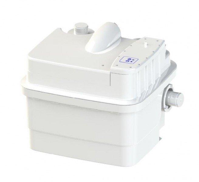 Канализационная установка SFA SANICUBIC 1 IP68Канализационные установки<br>Для организации домашней принудительной канализации отличным решением будет установка бытовой насосной станции SFA SANICUBIC 1 IP68. Этот агрегат, благодаря высокой мощности двигателя, способен прокачать около 12 куб. метров канализационных вод в час. Компактный размер и эстетический дизайн позволят Вам без проблем установить его даже в самом маленьком санузле, разместив его за ванной, умывальником или унитазом. <br>Основные характеристики насосной станции:<br><br>Широкая сфера применения<br>Может быть подключен к нескольким точкам забора стока<br>Большая производительность<br>Предварительное измельчение загрязнений<br>Автоматическое слежение за уровнем воды<br>Бесшумный двигатель<br>Отсутствие вибрации<br>Легкий монтаж<br>Компактный размер<br>Современный дизайн<br><br>С помощью санитарного насоса SFA можно организовать эффективную канализационную систему в квартире или доме, где отвод сточных вод затруднен по каким-либо причинам. Эта насосная станция обеспечивает принудительную канализацию, поднимая бытовые сточные воды на уровень до 11 метров по вертикали и отводя их на 100 метров по горизонтали. Канализационные трубы, куда насос выводит сток, могут иметь изгибы, подниматься и опускаться на любой уровень. Такое довольно большое расстояние позволяет вывести канализационную трубу из дома прямиком в сточную яму.<br>В санитарной насосной станции SFA установлена фильтрационная система из активированного угля, благодаря которой удалось полностью избавиться от запаха во время работы принудительной канализации. А применение шумопоглощающих материалов позволяет сделать работу этого оборудования практически беззвучным   уровень звука при работе насоса составляет всего 30 дБ(А).<br>Компактный дизайн позволяет установить этот насос в незаметном месте, к примеру, в специальной нише, за ванной или за унитазом. <br><br>Страна: Франция<br>Производитель: Франция<br>Назначение: Бытовое использование<br>диаме