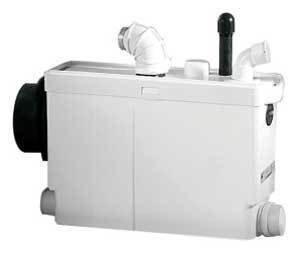 Канализационная установка SFA SANIPACKКанализационные установки<br>Оборудуйте в своем доме быстрый и эффективный отвод канализации с помощью фекальной насосной станции от французской компании SFA модели SANIPACK. Данный агрегат специально оснащен ножами для тщательного измельчения любых загрязнений сточных вод для предотвращения засора. Этот насос имеет современный стильный дизайн и отлично впишется в санузел с любым интерьером, совершенно не испортив его вида, а привнеся в его интерьер интересную деталь.&amp;nbsp;<br>Основные характеристики насосной станции:<br><br>Широкая сфера применения<br>Большая производительность<br>Предварительное измельчение загрязнений<br>Автоматическое слежение за уровнем воды<br>Бесшумный двигатель<br>Отсутствие вибрации<br>Легкий монтаж<br>Компактный размер<br>Современный дизайн<br><br>Насосная станция SFA предназначена для обустройства бесперебойной работы канализационной системы в частном доме, квартире или в любом помещении, где канализация проблемная или отсутствует вовсе. Этот прибор исключает самую частую проблему канализации, засоры, поскольку перед выводом сточных вод, этот насос измельчает твердые загрязнения &amp;ndash; это могут быть фекальные массы, туалетная бумага, волосы и любые другие твердые предметы, которые попали в унитаз или умывальник.<br>С помощью насоса-измельчителя SFA можно оборудовать вполне полноценную систему канализации в доме, где таковая не предусмотрена: это оборудование отводит сточные воды на 4 метровпо вертикали и 40 метровпо горизонтали, причем, трубы отвода стока могут иметь изгибы, подниматься и опускаться на любой уровень. Такое довольно большое расстояние позволяет вывести канализационную трубу из дома прямиком в сточную яму.<br>В этом сани-насосе установлена фильтрационная система из активированного угля, благодаря которой удалось полностью избавиться от запаха во время работы принудительной канализации. А применение шумопоглощающих материалов позволяет сделать работу этого оборудования практиче