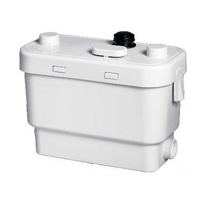 Канализационная установка SFA SANIVITEКанализационные установки<br>Для того, чтобы оборудовать в доме эффективный отвод канализации, воспользуйтесь санитарной насосной станцией SFA SANIVITE. Этот агрегат, несмотря на свои маленькие габариты, способен прокачать100 литров жидкости в минуту. Данный насос может поднимать сточные воды на уровень до 5 метровпо вертикали, что дает весьма гибкий подход при планировании канализационного трубопровода. Лаконичный дизайн и тихая работа сделают этот насос совершенно незаметным в Вашем санузле.&amp;nbsp;<br>Основные характеристики насосной станции:<br><br>Широкая сфера применения<br>Большая производительность<br>Предварительное измельчение загрязнений<br>Автоматическое слежение за уровнем воды<br>Бесшумный двигатель<br>Отсутствие вибрации<br>Легкий монтаж<br>Компактный размер<br>Современный дизайн<br><br>Санитарная насосная станция SFA предназначена для обустройства бесперебойной работы канализационной системы в частном доме, квартире или в любом помещении, где канализация проблемная или отсутствует вовсе. Этот прибор обеспечивает принудительную откачку воды из любой санитарной точки.&amp;nbsp;Этот прибор исключает самую частую проблему канализации, засоры, поскольку перед выводом сточных вод, этот насос измельчает твердые загрязнения &amp;ndash; это могут быть фекальные массы, туалетная бумага, волосы и любые другие твердые предметы, которые попали в ванную или умывальник.&amp;nbsp;<br>С помощью этого насоса можно оборудовать вполне полноценную систему канализации в доме, где таковая не предусмотрена: это оборудование отводит сточные воды на 5 метров по вертикали и 50 метров по горизонтали, причем, трубы отвода стока могут иметь изгибы, подниматься и опускаться на любой уровень. Такое довольно большое расстояние позволяет вывести канализационную трубу из дома прямиком в сточную яму.<br>В этом сани-насосе установлена фильтрационная система из активированного угля, благодаря которой удалось полностью избавиться от запаха во время 