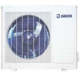 Мульти сплит система Sakata SOM-5Z100A5 комнат<br>SOM-5Z100A &amp;ndash; наружный блок для инверторной мультисплит системы от производителя климатической техники Sakata. Демократичная по цене климатическая техника, выпускаемая под маркой Sakata, обладает высокой производительностью &amp;ndash; мощности данного блока хватит, чтобы поддерживать микроклимат одновременно в пяти помещениях, а общая длина фреоновых трубопроводов может достигать 75 метров.<br>Особенности наружных блоков мультисистемы SOM:<br><br>Оптимальная функциональность - диапазон производительности &amp;ndash; от 4 до 10 кВт;<br>Работа в режимах охлаждения и обогрева;<br>Инверторное управление работой компрессора;<br>Поддержание микроклимата одновременно в нескольких помещениях (до 5);<br>Суммарная протяженность трубопроводов до 75 метров;<br>Подключение внутренних блоков различного типа;<br>Быстрый выход на заданный режим &amp;ndash; достижение установленной температуры;<br>Стабильная работа при отрицательных температурах наружного воздуха в режиме &amp;laquo;обогрева&amp;raquo;;<br>Японские комплектующие &amp;ndash; компрессора марки Toshiba;<br>Соответствие европейским стандартам энергоэффективности.<br><br>Мультисплит системы, созданные на базе наружных блоков серии SOM, это современное климатическое оборудование, использующие японские технологии и комплектующие. За основу для данной серии взяты компрессора с DC&amp;ndash;инверторным управлением японской корпорации Toshiba. Наружные блоки, применяемые в новой серии мультисплит систем Sakata соответствуют европейским стандартам энергоэфективности, отличаются низким потреблением электроэнергии и невысоким уровнем шума. При разработке оборудования учитывались условия эксплуатации, в которых предстоит работать данному оборудованию &amp;ndash; диапазон рабочих температур охватывает самые широкие пределы: на охлаждение наружный блок может работать с 0 и 50 0С, на обогрев до -15 0С. Ну и конечно традиционно все наружные блоки работают с различными типами