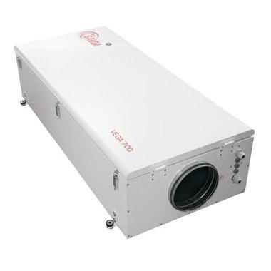Вентиляционная установка Salda VEGA 700 E750 м?/ч<br>Salda (Сальда) VEGA 700 E   это новейшая высокоэффективная приточная установка, выполненная в ультратонком дизайне и оснащенная передовой комплектацией. Данная модель имеет передовое автоматическое управление, благодаря которому отличается экономичным расходованием электроэнергии и комфортной эксплуатацией. Также установка не подвержена образованию коррозии.<br>Особенности и преимущества вентиляционных установок от бренда Salda:<br><br>Энергоэффективность<br>Монтаж в любом положении<br>Компактная конструкция<br>Возможность индивидуального подбора нагревателя<br>Возможность выбора электрического или водяного нагревателя<br>Самая низкая высота в классе<br>Встроенная автоматика с компактным выносным модулем управления и дистанционным пультом (Опция)<br>Крышка установки на специальных удобных замках<br>Простой и быстрый монтаж<br>Фильтрующая вставка класса очистки G4 в комплекте<br><br>На российском рынке климатической техники торговая марка Salda  (Литва) популярна уже более 20 лет. Благодаря высокому качеству производимого вентиляционного оборудования Salda имеет высокую репутацию у специалистов. Вентиляционные установки компании Salda широко применяется при обустройстве комплекса вентиляции различных помещений. Благодаря широкому разнообразию типоразмера приборов, Salda обеспечит подачей свежего воздуха, как квартиры, коттеджи, магазины и офисы, так и  рестораны, складские и большие производственные помещения.<br><br>Страна: Литва<br>Производитель: Литва<br>Поток воздуха мsup3; ч: 900<br>Потр. мощность вентилятора, кВт: None<br>Max мощность нагревателя, кВт: None<br>Мощность, кВт: 0,60<br>Класс защиты: IP44<br>Пылевой фильтр: Есть<br>Адсорбционный фильтр: None<br>Темп. эксплуатации, С: 20...+40<br>Поддержание заданной темп., C: None<br>Тип нагревателя: Нет<br>Управление: Электронное<br>Фильтры: G4<br>Уровень шума, дБа: 68/71<br>Питание, В: 220 В<br>Габариты ВхШхГ,мм: 300x606x1260<br>Вес, кг: 42<br>Гарантия: 2 года<