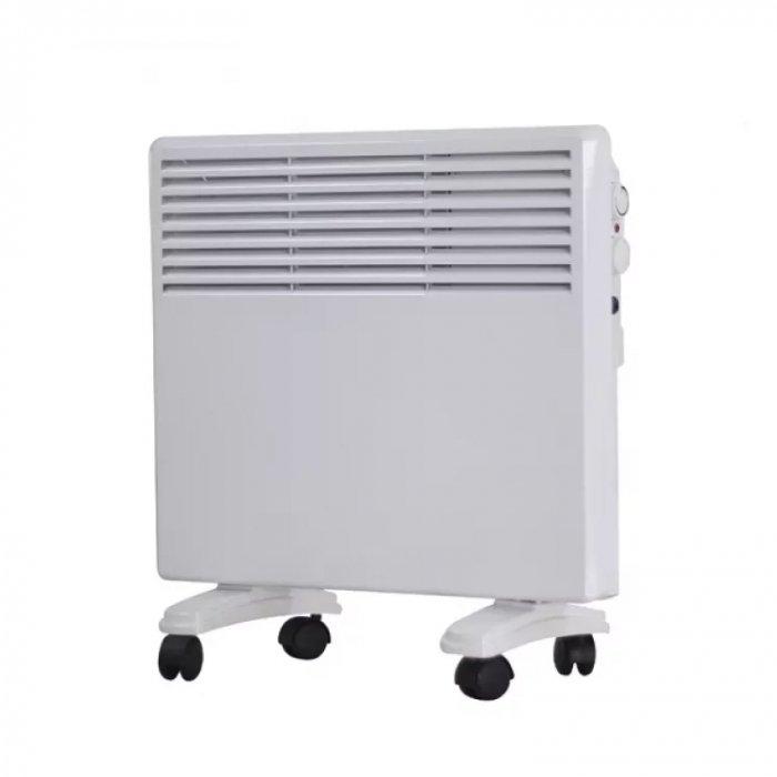 Конвектор электрический Scoole SC HT CM3 1500 WT15 м? - 1.5 кВт<br>Модель конвектора Scoole SC HT CM3 1500 WT отлично подойдет для обогрева квартир и небольших офисов. Прибор работает практически бесшумно и быстро обогревает пространство. Агрегат оснащен защитой от перегрева, поэтому надежен и безопасен в эксплуатации. Качественные детали комплектации гарантируют конвектору долгую и бесперебойную службу в штатном режиме.<br>Преимущества рассматриваемой модели электрического конвектора Scoole серии SC HT CM3:<br><br>Две ступени мощности нагрева<br>Простой настенный монтаж и напольная установка<br>Колесики для удобного перемещения конвектора<br>Высоконадежный механический термостат<br>Стич нагревательный элемент<br>Гарантия высокого качества<br>Длительный срок эксплуатации<br><br>Электрические конвекторы Scoole серии SC HT CM3 отличаются компактностью и небольшим весом. Малогабаритные приборы не требуют специфичного монтажа и хорошо фиксируются на полу благодаря опорам с колесиками. Устройства надежно защищены от перегрева и при работе не  выжигают  кислород из воздуха. Экологичное оборудование не требует технического обслуживания и работает бесшумно.<br> <br><br>Страна: Китай<br>Производитель: Китай<br>Mощность, Вт: 1500<br>Площадь, м?: 20<br>Класс защиты: Нет<br>Настенный монтаж: Да<br>Термостат: Механический<br>Тип установки: Стена/пол<br>Длина конвектора: 980<br>Высота конвектора: 410<br>Отключение при перегреве: Нет<br>Отключение при опрокидывании: Нет<br>Влагозащитный корпус IP44: Нет<br>Ионизатор: Нет<br>Дисплей: Нет<br>Питание В/Гц: 220/50<br>Размеры ВхШхГ: 410x980x110<br>Вес, кг: 7<br>Гарантия: 1 год