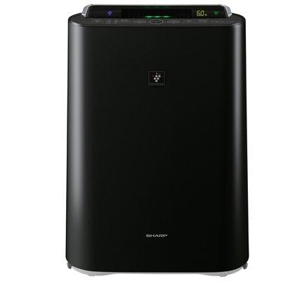 Очиститель воздуха Sharp KCD41RB (черный)Очистка + Увлажнение<br>Sharp (Шарп) KCD41RB (черный)   это целый климатический комплекс, который понравится всем, кто заботится о своем здоровье. Агрегат эффективно очищает и увлажняет, насыщает воздух ионами, отчего он становится свежим. Прибор имеет удобную световую индикацию работы, оснащен несколькими фильтрами и отличается долгим сроком безукоризненной службы. Его стильный черный корпус сможет органично вписаться в любой современный интерьер.<br>Особенности и преимущества очистителей-увлажнителей воздуха Sharp серии KC-D:<br><br>Климатический комплекс: очистка, увлажнение, ионизация воздуха.<br>Уникальная технология очистки воздуха и удаления бактерий и вирусов Plasmacluster.<br>Высокоэффективный HEPA-filter задерживает 99,97% всех частиц пыли.<br>Энергосберегающее инверторное управление<br>Сенсор пыли, комбинированный с датчиками температуры и влажности.<br>Цветовая индикация уровня загрязнения (5 ступеней).<br>Индикация влажности с точностью +/-1 %.<br>Прогрессивная технология распределения воздушных потоков.<br>Интегрированные колесики для легкого перемещения по квартире.<br>Режимы работы: очистка воздуха; очистка и увлажнение; ионный дождь.<br>Три скорости работы вентилятора (Максимальный/Средний/Низкий).<br>Срок службы фильтров HEPA, Дезодорирующий моющийся фильтр из активированного угля: до 10 лет.<br>Срок службы увлажняющего фильтра: 10 лет.<br>Сенсор: пыль, температура, влажность.<br>Вкл/выкл подсветки дисплея.<br>Индикатор режима ионизации Plasmacluster.<br>Индикатор уровня воды.<br><br> <br>Торговая марка Sharp разработала линейку климатических комплексов, которые выполняют комплексную обработку воздуха: очищают, увлажняют, ионизируют. Эти агрегаты помогут вам создать максимально здоровые и комфортные климатические условия в различного типа помещениях. Особенно актуальны очистители-увлажнители воздуха будут в комнатах людей, страдающих аллергиями и заболеваниями верхних дыхательных путей. Климатические комплек
