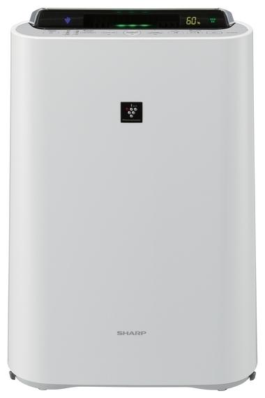 Очиститель воздуха Sharp KCD61RWОчистка + Увлажнение<br>Если вы заботитесь о своем здоровье, то Sharp (Шарп) KCD61RW станет удачным выбором. Устройство представляет собой производительный климатический комплекс, который сможет поддерживать чистую атмосферу с оптимальным уровнем влажности. Агрегат эффективно справляется со своими задачами, при этом весьма скромно потребляет электрическую энергию. Увлажнитель-очиститель характеризуется широким функционалом, удобством использования и высоким качеством исполнения.<br>Особенности и преимущества очистителей-увлажнителей воздуха Sharp серии KC-D:<br><br>Климатический комплекс: очистка, увлажнение, ионизация воздуха.<br>Уникальная технология очистки воздуха и удаления бактерий и вирусов Plasmacluster.<br>Высокоэффективный HEPA-filter задерживает 99,97% всех частиц пыли.<br>Энергосберегающее инверторное управление<br>Сенсор пыли, комбинированный с датчиками температуры и влажности.<br>Цветовая индикация уровня загрязнения (5 ступеней).<br>Индикация влажности с точностью +/-1 %.<br>Прогрессивная технология распределения воздушных потоков.<br>Интегрированные колесики для легкого перемещения по квартире.<br>Режимы работы: очистка воздуха; очистка и увлажнение; ионный дождь.<br>Три скорости работы вентилятора (Максимальный/Средний/Низкий).<br>Срок службы фильтров HEPA, Дезодорирующий моющийся фильтр из активированного угля: до 10 лет.<br>Срок службы увлажняющего фильтра: 10 лет.<br>Сенсор: пыль, температура, влажность.<br>Вкл/выкл подсветки дисплея.<br>Индикатор режима ионизации Plasmacluster.<br>Индикатор уровня воды.<br><br> <br>Торговая марка Sharp разработала линейку климатических комплексов, которые выполняют комплексную обработку воздуха: очищают, увлажняют, ионизируют. Эти агрегаты помогут вам создать максимально здоровые и комфортные климатические условия в различного типа помещениях. Особенно актуальны очистители-увлажнители воздуха будут в комнатах людей, страдающих аллергиями и заболеваниями верхних дыхательных путей.