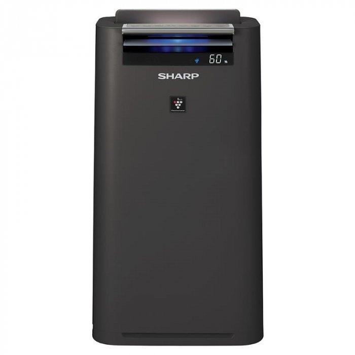 Очиститель воздуха Sharp KC-G41RHОчистка + Увлажнение<br>Sharp (Шарп) KC-G41RH   это освежитель и увлажнитель воздуха, который поможет вам поддержать необходимый микроклимат в помещении. Прибор может использоваться в школах, больницах, банках, а также частных домах и квартирах. Аппарат имеет много технологий, среди которых есть авторская технология Plasmaclaster. Прибор не производит много шума при работе.<br>Преимущества и особенности прибора:<br><br>Ионизация воздуха IonShower<br>Сочетание очистки и увлажнения воздуха<br>Эффективная ликвидация неприятных запахов<br>Энергосберегающее управление<br>Функция НАДЗОРА<br>5-ступенчатая индикация пыли<br>Цифровая индикация пыли погрешностью менее 1%<br>Технология Plasmaclaster<br>Пониженный уровень шума<br>Сенсоры загрязненности воздуха: пыль / влажность<br>Несколько основных режимов работы<br>HEPA фильтр /угольный фильтр/ фильтр грубой очистки/ увлажняющий фильтр<br><br>Серия высокоэффективных климатических комплексов Sharp KC-G41R от компании Sharp имеет множество различных технологий и функций, в том числе функцию энергосбережения, которая поможет прибору потреблять значительно меньше электроэнергии, при этом не сильно теряя производительность. Модели KC-G41RW и KC-G41RH отличаются между собой лишь цветом: W-модель   полностью белая, в то время как H-модель имеет угольно-серый цвет.<br><br>Страна: Япония<br>Производитель: Китай<br>S очистки, м?: 28<br>S увлажнения, м?: 28<br>Воздухообмен, мsup3;/ч: 240<br>Колво режимов работы: 2<br>Сенсоры качества воздуха: Да<br>Газоанализатор: Нет<br>Датчик пыли: Да<br>Предварительный фильтр: Да<br>НЕРАфильтр: Да<br>Угольный фильтр: Да<br>Электростатичный фильтр: Нет<br>Плазменный фильтр: Нет<br>Фотокаталитический фильтр: Нет<br>Питание, В: 220 В<br>УФ лампа: Нет<br>Ионизация: Да<br>Антибактерицидный фильтр: Нет<br>Пульт Д/У: Нет<br>Расход воды, мл/ч: 400<br>Шум, дБа: 46<br>Гигрометр: Да<br>Мощность, Вт: 31<br>Объем бака, л: 2,5<br>Габариты ВхШхГ, см: 63,1x34,5x26,2<br>Вес, кг: 9<br>
