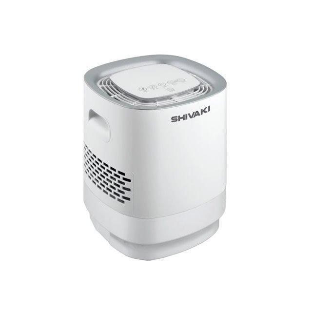 Мойка воздуха Shivaki SHAW-4510WБытовые мойки<br>Очиститель-увлажнитель воздуха SHAP-4510W - климатический бытовой прибор с модным дизайном, разработанный компанией Shivaki не только для комплексной очистки воздуха в закрытых помещениях, но и для его увлажнения. Представленная модель удобна и комфортна в эксплуатации благодаря возможности выбора различных режимов регулировки влажности. Стоит отметить, что очиститель-увлажнитель имеет большую емкость для воды.<br>Основные преимущества очистителей-увлажнителей воздуха серии SHAW от компании Shivaki:<br><br>Инновационный дизайн.<br>2 в 1: очиститель и увлажнитель.<br>Таймер на 12 часов.<br>Регулировка влажности.<br>Три режима настройки влажности.<br>Автоотключение без воды.<br>Емкость резервуара для воды:6,0 литров.<br>Низкий уровень шума.<br>Высококачественное исполнение.<br>Напольная установка.<br><br>SHAW   это семейство бытовых очистителей-увлажнителей воздуха от японской компании Shivaki   всемирно известного производителя климатического оборудования   разработана для создания и поддержания комфортных и здоровых климатических условий в доме. Модельный ряд представлен приборами разной мощности, выполненными в разнообразном, но всегда стильном и современном дизайне. Из такого широкого ассортимента каждый пользователь сможет подобрать наиболее подходящую модель. Очистители-увлажнители воздуха Shivaki смогут поддерживать наиболее оптимальный уровень влажности. С очистителями-увлажнителями воздуха SHAW от компании Shivaki ваш дом наполнится свежестью и чистотой! Обратите внимание: агрегаты не имеют сменного фильтра, поэтому не нуждаются в расходных материалах! Стоит отметить, что оборудование этого бренда уже успело зарекомендовать себя исключительно с лучшей стороны. Благодаря чему пользуется большой любовью российских и иностранных пользователей.<br><br>Страна: Япония<br>Производитель: Китай<br>S увлажнения, м?: 25<br>S очистки, м?: 25<br>Воздухообмен мsup3;: None<br>Колво режимов работы: None<br>Обьем бака, л: 6<br>