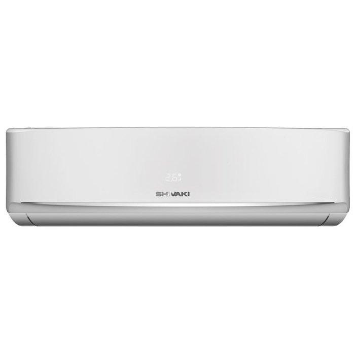 Настенный кондиционер Shivaki SSH-I187BE55 м? - 5.5 кВт<br>Комфортный и эффективный в эксплуатации настенный кондиционер с отличным функционалом Shivaki (Шиваки) SHIVAKI SSH-I187BE &amp;mdash; это доступная покупка для большинства потребителей, которые ценят свои деньги и рассчитывают получить надежное климатическое оборудование. Данная сплит-система работает в режиме нагрева и охлаждения воздуха, скорость вентилятора может определить пользователь самостоятельно.<br>Особенности и преимущества кондиционеров Shivaki представленной серии:<br><br>Режимы &amp;laquo;Тепло-Холод&amp;raquo;<br>LED-дисплей<br>Класс энергоэффективности А<br>Режим быстрого охлаждения<br>Автоматический подбор режима охлаждения или обогрева<br>Авторестарт<br>Осушение<br>Фотокаталитический фильтр<br>Генератор отрицательных ионов<br><br>Умные настенные сплит-системы Shivaki серии Ion 2017 оборудованы передовым функциональным оснащением и способны применяться в нескольких режимах разной направленности для эффективного поддержания наиболее комфортных климатических условий. Модели с неинверторным управлением также характеризуются сравнительно высокой экономичностью при эксплуатации.<br><br>Горизонтальная регулировка потока: Нет<br>Страна бренда: Япония<br>Уровень шума, дБа: 56<br>Габариты ВхШхГ, см: 55,2x76x25,6<br>Производитель: Китай<br>Вес, кг: 32<br>Компрессор: Не инвертор<br>Площадь, м?: 50<br>Режим работы: холод/тепло<br>Уровень шума, дБа: 43<br>Охлаждение, кВт: 5,28<br>Габариты ВхШхГ, см: 28x90x20,2<br>Вес, кг: 9<br>Обогрев, кВт: 5,42<br>Потребление при охлаждении, кВт: 1,88<br>Потребление при обогреве, кВт: 1,67<br>Охлаждающая способность, тыс. BTU: 18<br>Диапазон t на охлаждение, С: +18...+43<br>Диапазон t на обогрев, С: 7...+24<br>Расход воздуха, м3/ч: 780<br>Хладагент: R410A<br>Max длина трассы, м: 15<br>диаметр газовой трубы, дюйм: 1/2<br>диаметр жидкостной трубы, дюйм: 1/4<br>Фильтр тонкой очистки: Нет<br>Плазменный фильтр: Да<br>Предварительный фильтр: Нет<br>Ионизатор воздуха: Нет<br>С