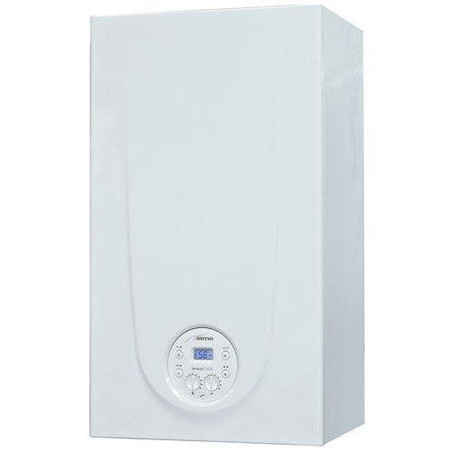 Котел Sime BRAVA ONE 25 BF24 кВт<br>Sime (Сайм) BRAVA ONE 25 BF &amp;mdash; это двухконтурное газовое оборудование, предназначенное для создания и поддержания благоприятного климата внутри жилых и не жилых помещений, а так же для организации ГВС. Прибор может работать на природном и на сжиженном газе (будет доступно пользователю опционально). Управление и контроль за котлом может быть осуществлен с помощью ЖК дисплея.<br>Особенности отопительного оборудования от компании Sime серии BRAVA:<br><br>Модель OF: открытая камера сгорания<br>Модель BF: закрытая камера сгорания<br>Информативный ЖК дисплей (7 символов) с подсветкой<br>Интерфейс поддерживает протокол &amp;laquo;OPEN THERM&amp;raquo;<br>Два теплообменника: на отопление (медный) и ГВС (стальной)<br>Внешняя поверхность теплообменника покрыта антикоррозионным составом<br>Камера сгорания выполнена из стали с антикоррозионным алюминиевым покрытием и изолирована внутри экологическим материалом<br>Возможность использования устройств дистанционного управления и погодозависимого регулирования<br>Для калибровки работы котла предусмотрена функция &amp;laquo;кривых отопления&amp;raquo;<br>Возможность эксплуатации как на сжиженном, так и на природном газе (при условии использования специального комплекта).<br>Защита от замерзания<br>Система антиблокировки насоса (насос включается на несколько секунд каждые 24 часа простоя)<br>Встроенный байпас в гидравлический блок<br>Постциркуляция насоса<br>Ионизационный контроль пламени горелки<br>Система самодиагностики (постоянный контроль основных узлов котла)<br>Предохранительный клапан в контуре отопления<br>Датчик давления теплоносителя<br>Датчик контроля тяги.<br><br>Настенные котлы Sime серии BRAVA представляют собой линейку высокопроизводительного газового отопительного оборудования, каждая из моделей которой оснащена высокотехнологичной современной системой управления для комфортной и безопасной эксплуатации. Котлы отлично служат в бытовых современных условиях и могут эффективн