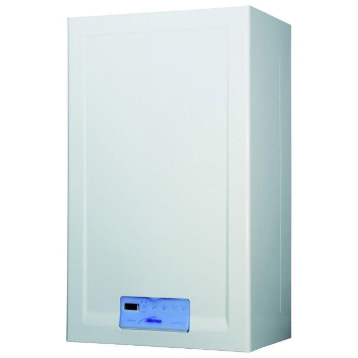 Котел Sime FORMAT DGT 30 BF28 кВт<br>Удобный в эксплуатации компактный двухконтурный котел Sime (Сайм) FORMAT DGT 30 BF использует для основной работы газ   самое актуальное и экономически выгодное топливо на сегодняшний день. На входе горячей воды производитель установил механический фильтр, а доступная функция самодиагностики позволяет контролировать процесс горения газа. Конструкция имеет надежное исполнение.<br>Особенности отопительного оборудования от компании Sime серии FORMAT DGT:<br><br>Установка настенная<br>Циркуляционный насос с автоматическим клапаном выпуска воздуха<br>Дифференциальный прессостат, контролирующий работу вентилятора<br>Предохранительный клапан контура отопления на 3 бара<br>Автоматический и ручной байпас между подачей и обраткой системы отопления<br>Функция  трубочиста  для самодиагностики процесса горения газа<br>Механический фильтр на входе холодной воды<br>Датчик расхода горячей воды<br>Датчик утечки дымовых газов с отображением аварии на ЖК дисплее<br>Возможность подключения выносных контроллеров CR63 и CR73<br><br>Газовые котлы настенного типа Sime серии FORMAT DGT   это высокоинтеллектуальное передовое оборудование для организации комфортного климата на участке и помощи при создании систем гвс. Все котлы рассматриваемой серии выполнены в компактных корпусах, для изготовления которых были применены материалы высокого качества; модели также оснащены эффективной современной изоляцией.<br><br>Страна: Италия<br>Производство: Италия<br>Тип котла: Энергозависимые<br>Режим работы: Отопление/ГВС<br>Камера сгорания: Закрытая<br>Горелка: Модулируемая<br>Max мощность, кВт: 27.8<br>Min мощность, кВт: 9.0<br>Max давление отопит контура , Атм: 3.0<br>Min давление отопит контура , Атм: None<br>Расширительный бак: Да<br>Циркуляционный насос: Да<br>Встроенный накопительный бойлер: Нет<br>Возможность подключения бойлера ГВС: None<br>Тип теплообменника: Пластинчатый<br>Max давление в контуре ГВС, Атм : 7.0<br>Min давление в контуре ГВС, Атм : 0.3<br>Пр