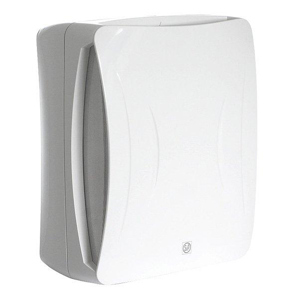 Вентилятор Soler &amp; Palau EBB 170N HTВытяжки для ванной<br>Центробежный вентилятор Soler   Palau EBB 170 NHT отлично сочетает в себе функциональность и современный дизайн. Устройство выполнено в модном белом цвете, имеет прочный корпус, обладает повышенной производительностью. Вентилятор имеет две скорости, два клапана, металлический фильтр. Он удобно крепится на стену или потолок. Также модель оснащена таймером и датчиками влажности.&amp;nbsp; &amp;nbsp; &amp;nbsp; &amp;nbsp;<br>Особенности и преимущества вентиляторов Soler   Palau представленной серии:<br><br>Бытовые центробежные вентиляторы предназначены для использования в системах вентиляции с большой протяженностью воздуховодов.<br>Вентиляторы комплектуются рабочими колесами с загнутыми вперед лопатками и одно- фазными электродвигателями (230В-50Гц), класс изоляции B.<br>Для удобства пользователя вентиляторы могут оснащаться таймером или гигростатом.<br>Рабочая температура от 0&amp;deg;С до +40&amp;deg;С.<br><br>Модификации:<br><br>S &amp;mdash; Стандартная модель.<br>T &amp;mdash; Модель с регулируемым таймером.<br>HT &amp;mdash; Модель с гигростатом и регулируемым таймером.<br>М &amp;mdash; Модель со шнуровым выключателем.<br><br>EB/EBB &amp;mdash; это еще одна линейка вытяжных вентиляторов от испанского бренда Soler   Palau. Если воздуховоды в системе вентилирования имеют большую длину, то данное семейство &amp;mdash; это идеальный выбор. Конструкция приборов тщательно продумана и отличается прекрасной эргономикой. Вентиляторы тихие, удобные в установке и уходе, надежные и долговечные.<br><br>Страна: Испания<br>Производитель: Испания<br>Мощность, Вт: 36/48<br>Поток воздуха мsup3; ч: 140/220<br>Частота вращения, об/мин: 780/1100<br>Колво скоростей: 2<br>Управление: Автоматическое<br>Уровень шума, дБа: 32/42<br>Таймер: Есть<br>Гигрометр: Да<br>Регулировка высоты: Нет<br>Влагозащищенный корпус: IP44<br> диаметр установки, мм: 100<br>Питание, Вт: 230<br>Габариты ВхШхГ, мм: 337x284x170<br>Вес, кг: 3<br>Гарант