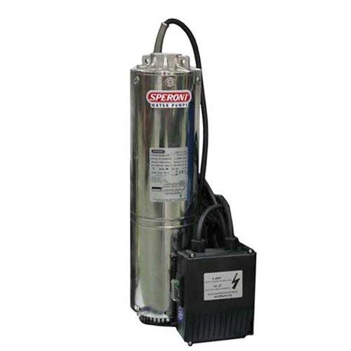 Погружной насос Speroni SCM 4-FКолодезные насосы<br>Speroni (Сперони) SCM 4-F &amp;ndash; это современный качественный насос, разработанный для перекачивания колодезной или другой чистой воды. Высокая производительность устройства позволяет использовать его в качестве элемента автономной системы водоснабжения в небольших домах. Модель изготовлена только из высококлассных материалов, что гарантирует длительный и безукоризненный срок эксплуатации. &amp;nbsp;&amp;nbsp;<br>Основные преимущества рассматриваемой модели насоса от итальянского бренда Speroni:<br><br>Насос предназначен для продолжительной работы.<br>2-x полюсной электродвигатель (2850 oб/мин).<br>Встроенная система защиты от перегрузки c автоматическим перезапуском.<br>Класс изоляции F.<br>Класс защиты IP 68.<br>Hapyжный кopпyc нacoca нepжaвeющaя cтaль.<br>Ceткa нepжaвeющaя cтaль.<br>Импeллep и диффyзop плacтик.<br>Пoдшипник чугун.<br>Baл нepжaвeющaя cтaль.<br>Bнeшний кopпyc двигaтeля нepжaвeющaя cтaль.<br>Механическое торцевое уплотнение керамика/керамика.&amp;nbsp;<br><br>Серия высокопроизводительных насосов различного назначения от популярнейшей итальянской торговой марки Speroni &amp;ndash; это высокое качество материалов изготовления, &amp;nbsp;длительный и бесперебойный срок эксплуатации, а также доступная стоимость. Каждая модель прошла тестирование на производстве, отвечает всем требованиям и стандартам, принятым в данной области. При изготовлении продукции Speroni применяются высококлассные материалы, которые устойчивы к износу, что гарантирует длительный срок использования такого оборудования. Стоит отметить низкое потребление электричества, что сделало насосы рассматриваемого производителя энергоэффективными и выгодными для потребителя.&amp;nbsp;<br><br>Страна: Италия<br>Производитель: Италия<br>Производительность, л/мин: 95<br>Max глубина погружения, м: 20<br>Мощность, Вт: 1100<br>Напряжение сети, В: 220 В<br>Длина кабеля, м: 10<br>Max напор, м: 43<br>Защита от сухого хода: Нет<br>Материал корпус