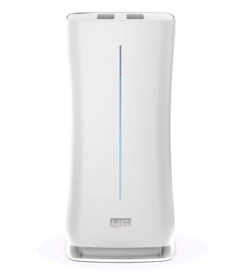 Увлажнитель воздуха Stadler Form E-010Ультразвуковые<br>Увлажнитель воздуха Stadler Form E-010 имеет широкий спектр выбора настроек, функций и режимов, что позволяет пользователю идеально настраивать работу этого прибора в соответствии с конкретной ситуаций. В этот увлажнителе можно использовать водопроводную неочищенную воду   при образовании в нем накипи достаточно включить режим очистки, и он самостоятельно устранит эту проблему.<br>Особые преимущества увлажнителей воздуха Stadler Form:<br><br>Режим  Адаптивное увлажнение <br>Режим  Теплый пар <br>Режим  Холодный пар <br>Встроенный ароматизатор<br>Автоматическое отключение<br>Режим чистки от накипи<br>Ночной режим<br>Пульт управления <br>Выносной датчик замера влажности воздуха (в пульте управления)<br>Ionic Silver Cube ISC  (против бактерий)<br>Картридж Anticalc  (против накипи)<br>Низкая потребляемая мощность (в режиме  Теплый пар )<br>Высокое парообразование<br>Емкость бака:6.3 литров<br>Низкий уровень шума<br>Компактные размеры<br>Малый вес<br><br>Увлажнители воздуха, произведенные швейцарской компании Stadler Form (Штадлер Форм), серии EVA WHITE имеют лаконичный современный дизайн и будут отлично смотреться в помещении с любым стилем интерьера. Корпус этих приборов изготовлен из прочного белоснежного пластика, который не изменяет свой цвет со временем. Это позволяет этим увлажнителям сохранять свой привлекательный вид в течение долгих лет.<br><br>Страна: Швейцария<br>Производитель: Швейцария<br>Площадь, м?: 200<br>Площадь по очистке, м?: None<br>Обьем бака, л: 6,3<br>Колво режимов работы: 5<br>Расход воды, мл/ч: 550<br>Гигростат: Нет<br>Гигрометр: Да<br>Питание, В: 12/220<br>Мощность, Вт: 95<br>Габариты ВхШхГ, см: 19,6x41,8x19,6<br>Вес, кг: 3<br>Гарантия: 1 год<br>Ширина мм: 418<br>Высота мм: 196<br>Глубина мм: 196