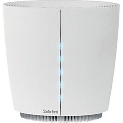 Очиститель воздуха Stadler Form HAU457 Pegasus WhiteCо сменными фильтрами<br>Очиститель воздуха Stadler HAU457 Pegasus, обеспеченный сменными фильтрами модели White предназначается для осуществления очистки с помощью отличной запатентованной системы фильтрации под названием HPPTM. Такая система производит тончайшую очистку воздуха как в офисах, так и в домах от всех известных на сегодняшний день загрязнений.<br>Слаженная работа всех фильтров обеспечивает возможность очищения воздуха не только от крупных загрязнений величиной до трех десятых микрона, и от самых мелких   в одну десятую микрон. Кроме этого, Pegasus в совершенстве очищает воздух от табачного дыма и различных неприятных запахов. Поэтому представленный прибор идеально использовать в помещениях, где могут быть вышеперечисленные источники загрязнения.<br>Cистема фильтрации HPP cостоит из:<br><br>Предварительного фильтра (предназначен для того, что бы очищать воздух от крупных частиц загрязнений и увеличения срока эксплуатации остальных фильтров);<br>Угольного фильтра (он служит для абсорбции всех неприятных запахов);<br>Электростатического фильтра (он генерирует статическое электричество, придающим самым мельчайшим частицам   0,01 мкм положительный заряд и притягивающим их к фильтру). <br><br>Таким образом, Stadler Form Pegasus обладает лучшими характеристиками степени фильтрации. Кроме этого, в таком приборе есть еще несколько очень полезных пользователю функций. Для комфортного использования ночью разработан  режим сна , снижающий уровень шума и уменьшающий световую индикацию.<br>В Pegasus есть несколько режимов мощности и встроенный таймер для его автоматического отключения. Кроме непосредственной очистки воздуха устройство может ароматизировать воздух в помещениях   для этого вмонтирован отдельный отсек для арома-масел. Воздухоочиститель обладает оригинальным стильным исполнением и изготавливается в двух цветовых комбинациях   черном или белом.<br> <br><br><br>Страна: Швейцария<br>Производитель: Китай<b