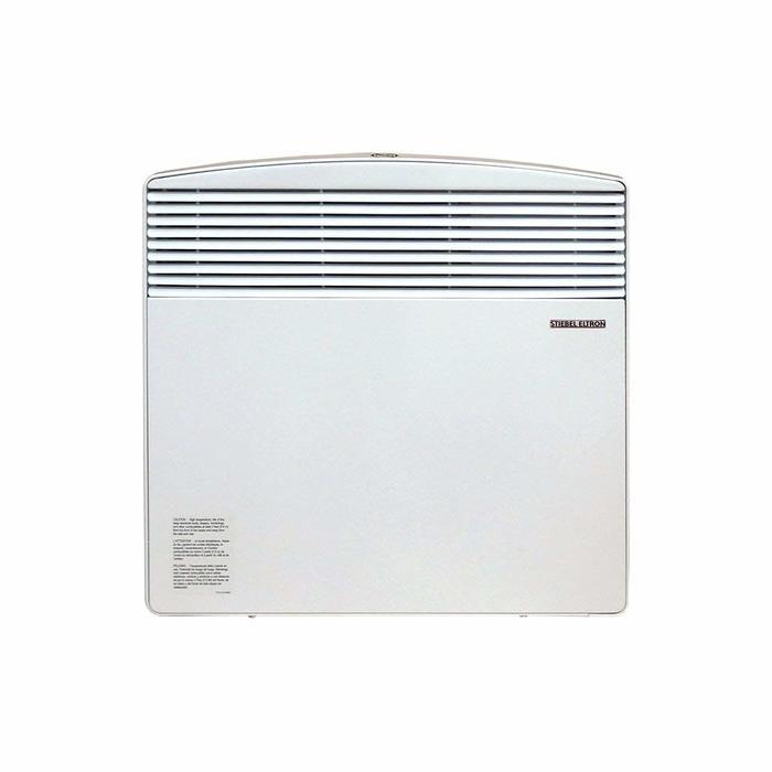 Конвектор отопления Stiebel Eltron CNS 75 S7 м? - 0.7 кВт<br> <br>Электрический конвектор станет для Вас незаменимым помощником в обогреве помещения в период межсезонья. Прибор можно применять в качестве основного или дополнительного источника отопления. В качестве нагревательного элемента используется трубчатый электрический нагреватель, который изготовлен из нержавеющей стали. Вырабатываемая мощность конвектора составляет 750 Вт.<br>Особенности:<br><br>нагревательный элемент - ТЭН из нержавеющей стали с алюминиевым теплообменником;<br>механический термостат с точностью 1 С;<br>встроенная защита от перегрева;<br>режим Антизамерзания;<br>II класс электрозащиты, не требуется заземления;<br>устойчивость к перепадам напряжения от 150 до 242 В.<br><br><br>Электрический конвектор CNS 75 S используется в качестве основного или дополнительного обогревателя в период межсезонья в жилых и коммерческих помещениях. Приборы Stiebel Eltron наиболее востребованы в загородных домах, городских квартирах, магазинах, кафе и пр.<br>По типу установки конвектор является настенным, отличается элементарностью монтажа, который не требует специфических инструментов и навыков. За счет компактных габаритных размеров прибор может использоваться в помещениях небольшой площади и устанавливаться в ограниченных пространствах, например, под подоконником.<br>Принцип работы обогревателя основан на процессе естественной конвекции, при которой холодный воздух из нижних слоев пропускается через трубчатый электрический нагреватель, нагревается и устремляется вверх через решетку. ТЭН изготовлен из нержавеющей стали и отличается надежностью и долговечностью, так как материал исключает возможность возникновения коррозии. Надежность достигается за счет высококачественных материалов и высокоточной технологии сборки прибора. Таким образом, прибор является долговечным и надежным обогревателем, который не требует финансовых затрат на обслуживание и весьма экономичен в энергопотреблении.<br><br>Превосходный внешни