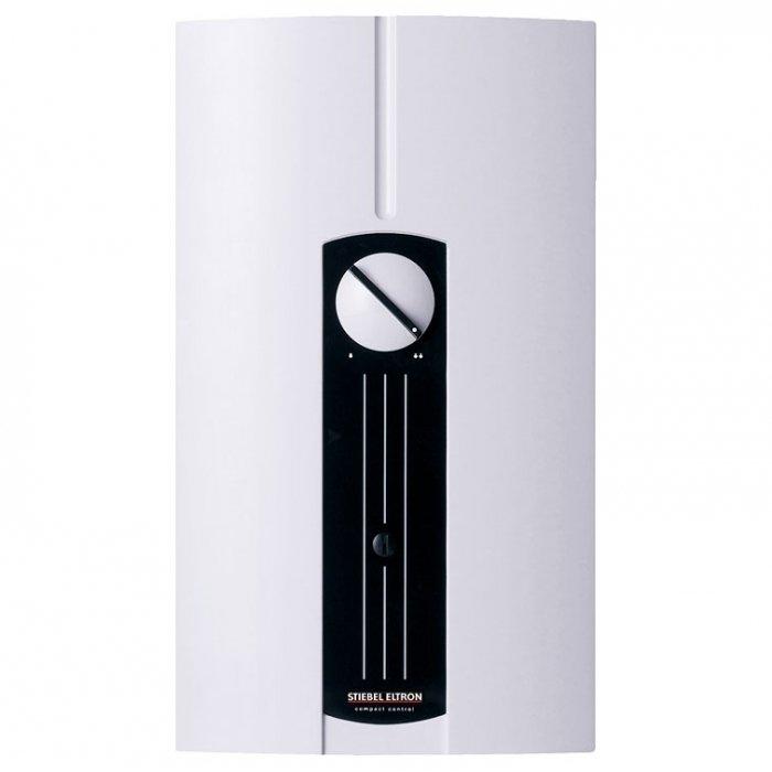 Лучший электрический проточный водонагреватель 24 кВт Stiebel Eltron DHF 24 C24 кВт<br>Stiebel Eltron DHF 24 C1   пожалуй, лучший электрический проточный водонагреватель 24 кВт для дома . Представленная модель безопасна, может обслуживать несколько выходных кранов, оснащена медным нагревательным элементом и совершенно безопасна в эксплуатации. Имеется большой круглый механический регулятор для простого управления агрегатом. <br><br>Страна: Германия<br>Производитель: Германия<br>Темп. нагрева, С: 45<br>Способ нагрева: электрический<br>Производительность: 4,5<br>Мощность, кВт: 24<br>Защита от перегрева: есть<br>LCD дисплей: нет<br>Управление: гидравлическая<br>Тип установки: Вертикальная<br>Подводка: Нижняя<br>Комплектация: Нет<br>Тип подачи: Напорный<br>Напряжение сети, В: 380 В<br>Габариты ШхВхГ, см: 37x13x22<br>Вес, кг: 22<br>Гарантия: 3 года<br>Ширина мм: 370<br>Высота мм: 130<br>Глубина мм: 220