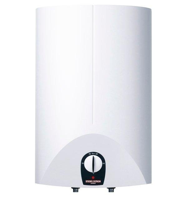 Электрический накопительный водонагреватель Stiebel Eltron SH 15 SL 3kW15 литров<br>Современный накопительный водонагреватель SH 15 SL 3kW от производителя Stiebel Eltron с нагревательным элементом электрического типа рассчитан на работу с объемом воды до 15 литров. Данная модель предназначена для установки на стену вертикальным способом, подвод воды осуществляется снизу. Присутствует мощная защитная система, предотвращающая также перегрев и замерзание.<br>Особенности и преимущества компактных накопительных водонагревателей серии SH SL  от компании Stiebel Eltron:<br><br>напорный тип;<br>функция ускоренного нагрева;<br>снабжение горячей водой нескольких (или одной) точек водоразбора;<br>монтаж над или под раковиной (в зависимости от модели);<br>наличие ограничителя температур;<br>накопительный бак из высококачественной и прочной стали;<br>внутреннее покрытие эмалью;<br>удобное электронное управление;<br>температурный диапазон от 35оС до 82оС;<br>сменный анод (антикоррозийный);<br>наличие регулятора температур, индикатора режимов работы;<br>наличие защиты от перегрева;<br>защита от замерзания;<br>KV 30 (группа безопасности) заказывается отдельно;<br>защита от брызг IP 24;<br>безопасная экологически теплоизоляция;<br>гарантия качества от производителя;<br>подключение   . <br><br>Линейка компактных водонагревателей накопительного типа SH SL от компании Stiebel Eltron идеально подходят для обеспечения горячей водой нескольких разборных точек. Есть возможность плавно регулировать температуру в диапазоне от 35  C до 82  C посредством бесступенчатого поворотного переключателя. Модельный ряд оснащен сигнальным индикатором, который включается, если приборы находится в стадии нагрева. Стоит сказать, что вместе с группой безопасности SVMT (приобретается отдельно) водонагреватели можно устанавливать с любой водоразборной арматурой напорного типа.<br><br>Страна: Германия<br>Производитель: Германия<br>Способ нагрева: Электрический<br>Нагревательный элемент: Трубчатый<br>Объем, л:
